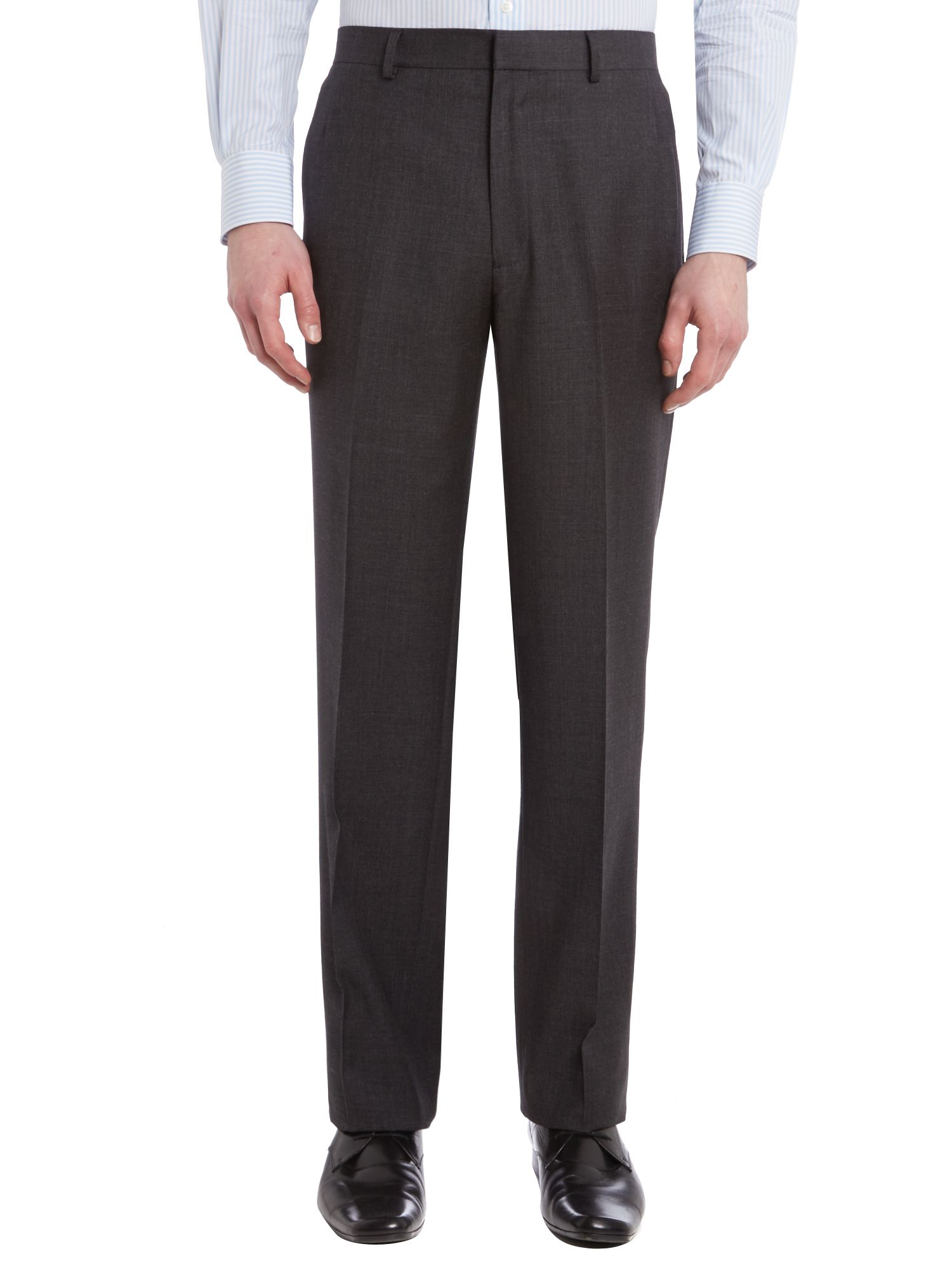 Chester Barrie Albemarle Contemporary Fit Suit in Grey (Grey) for Men