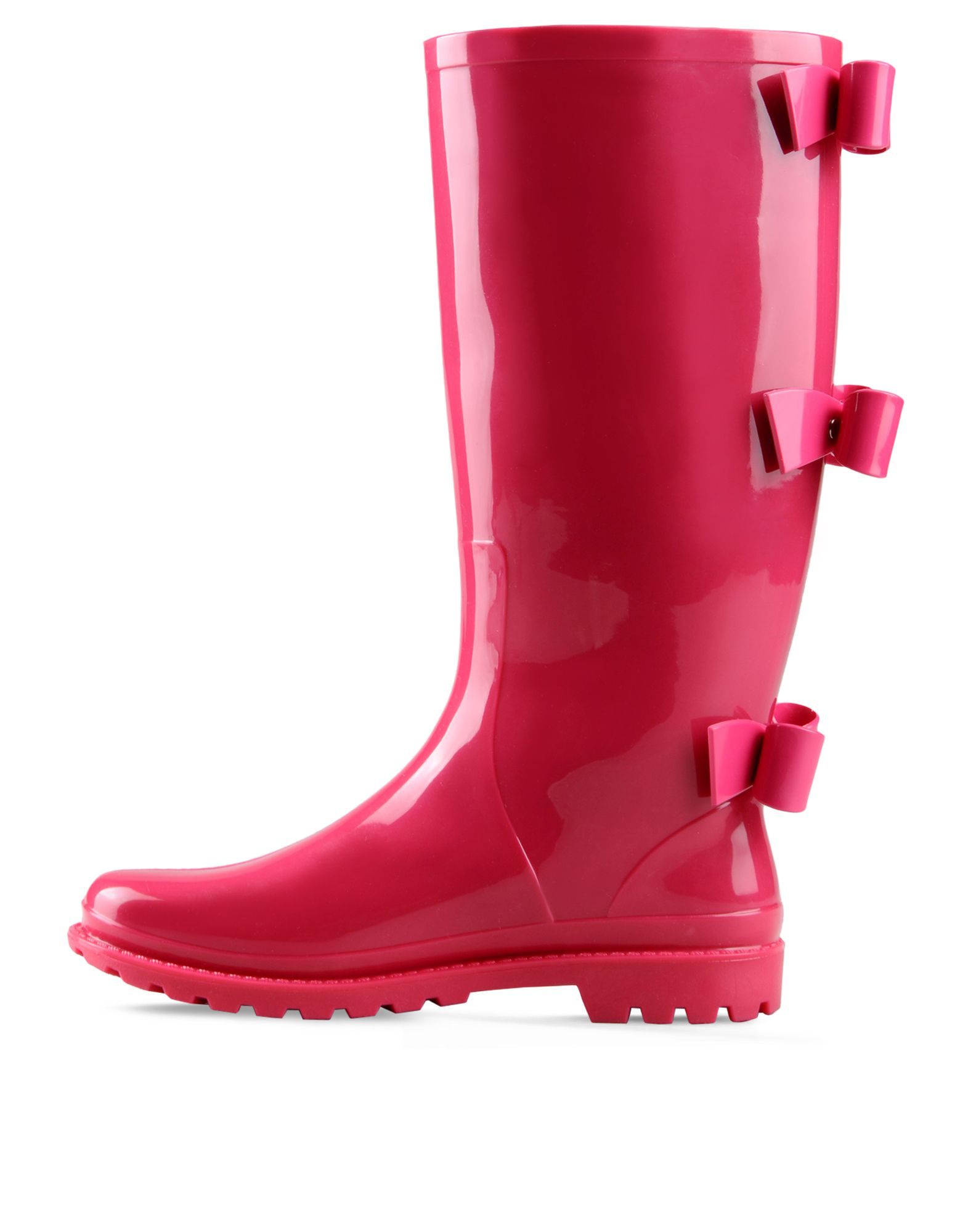 Red valentino Bow Rainboot in Pink | Lyst