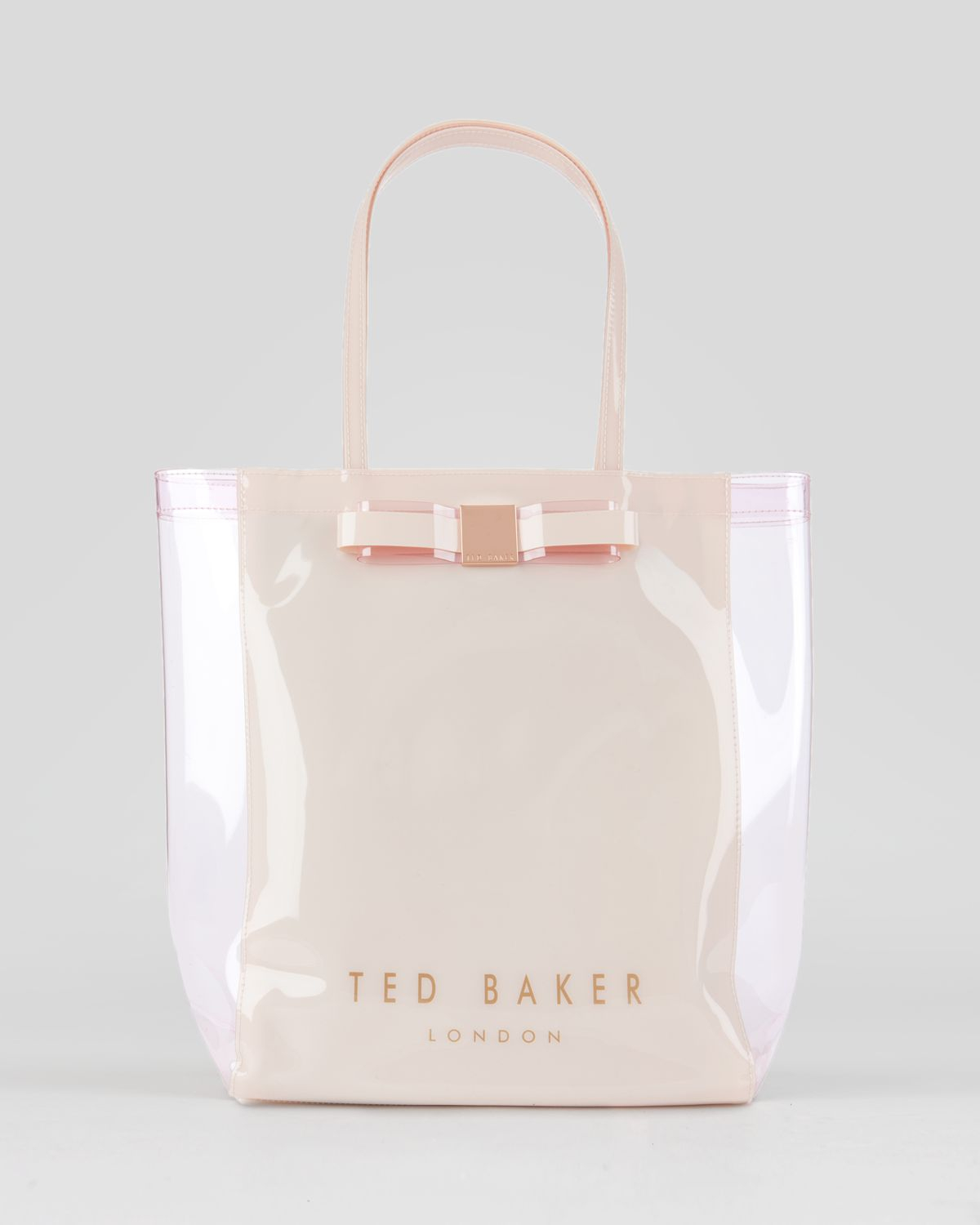 d4dd1a8a036902 Ted Baker Small Icon Tote Bag in Nude Pink