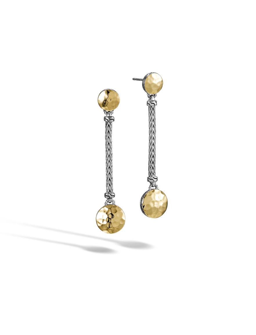 John hardy dot linear earrings in metallic lyst for John hardy jewelry earrings