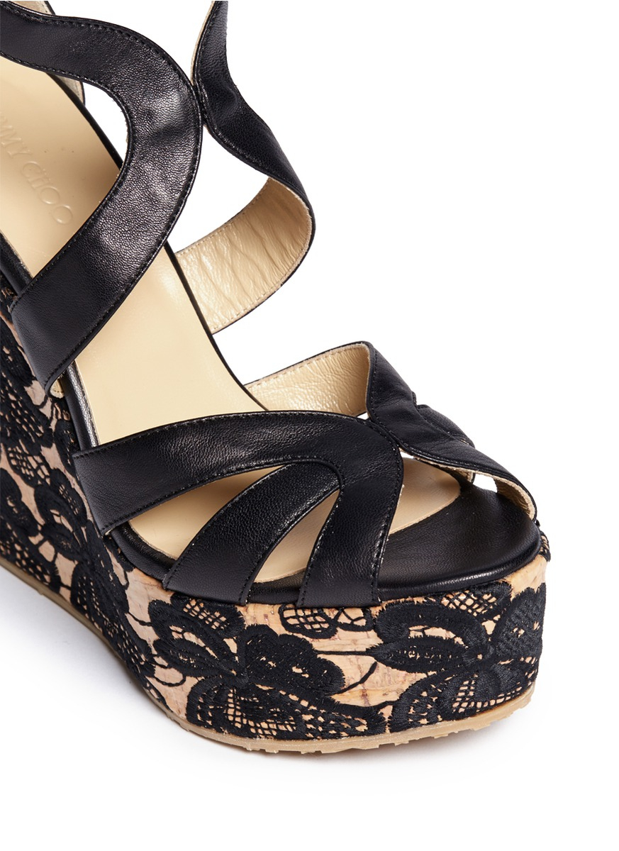 Jimmy Choo 'parrow' Strappy Leather