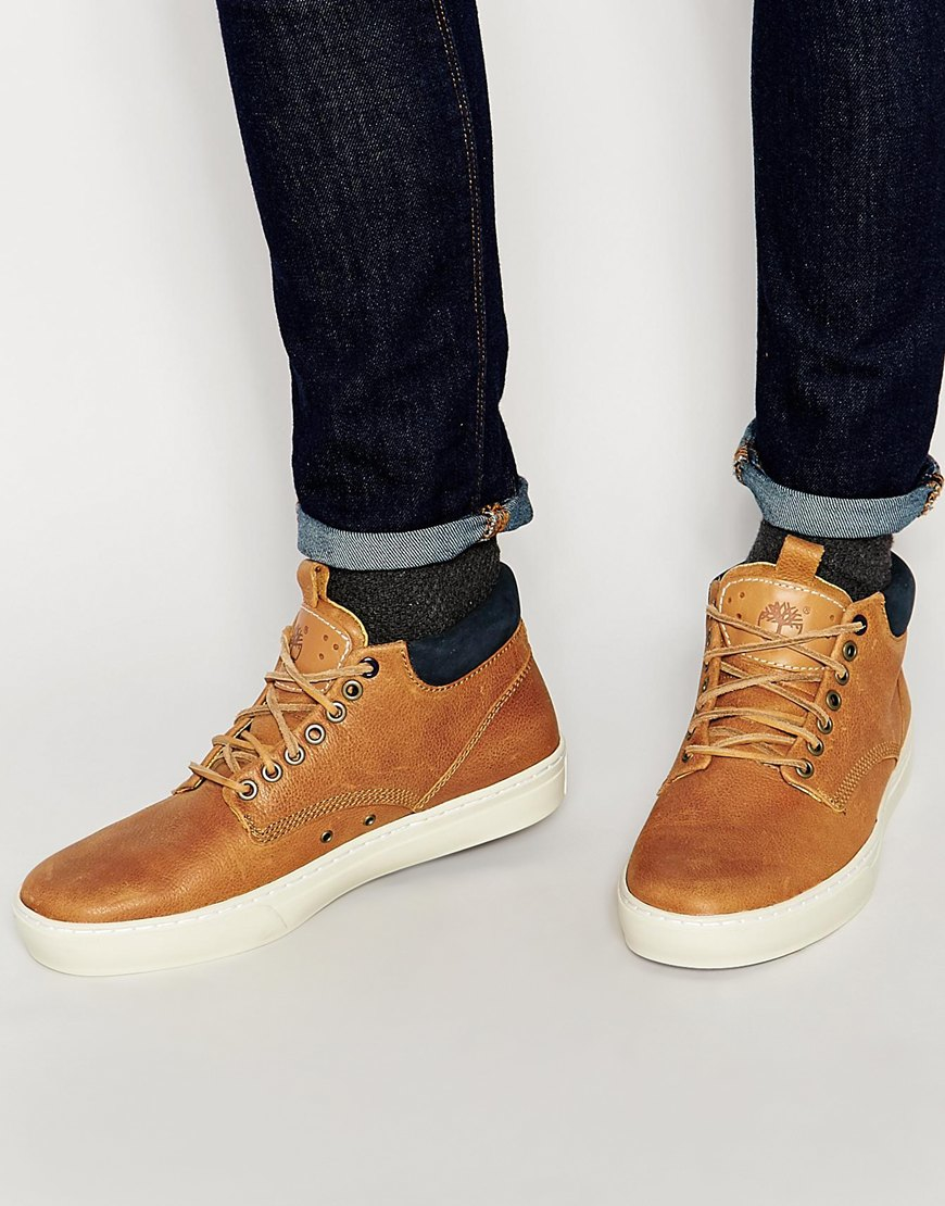 847fa5644aa2b Timberland Adventure Cupsole Chukka Boots in Brown for Men - Lyst