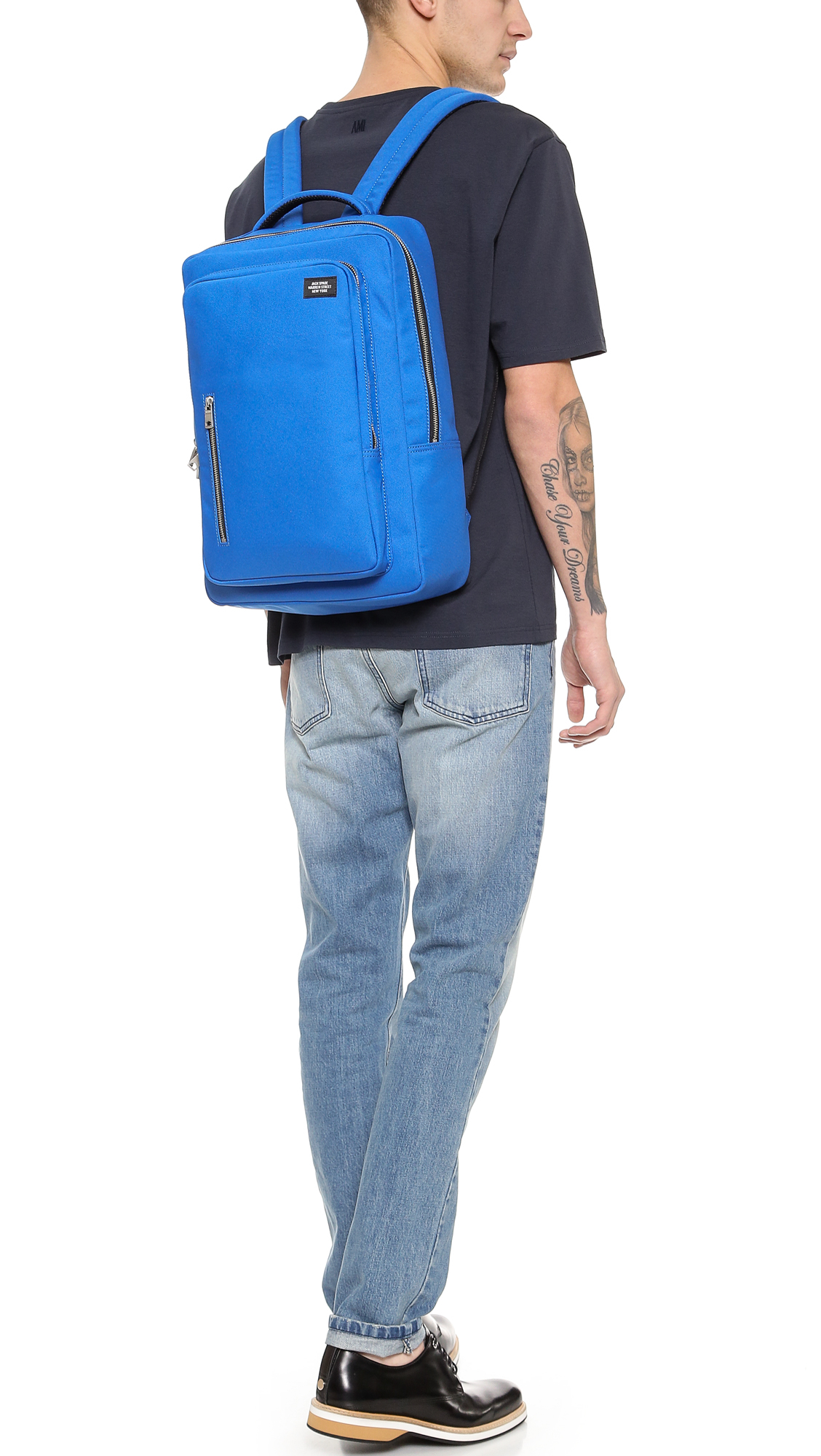 d6af998a4d29 Jack Spade Commuter Nylon Cargo Backpack in Blue for Men - Lyst