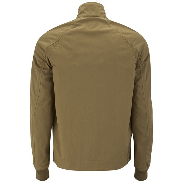 Paul Smith Men's Zipped Harrington Jacket in Tan (Brown) for Men