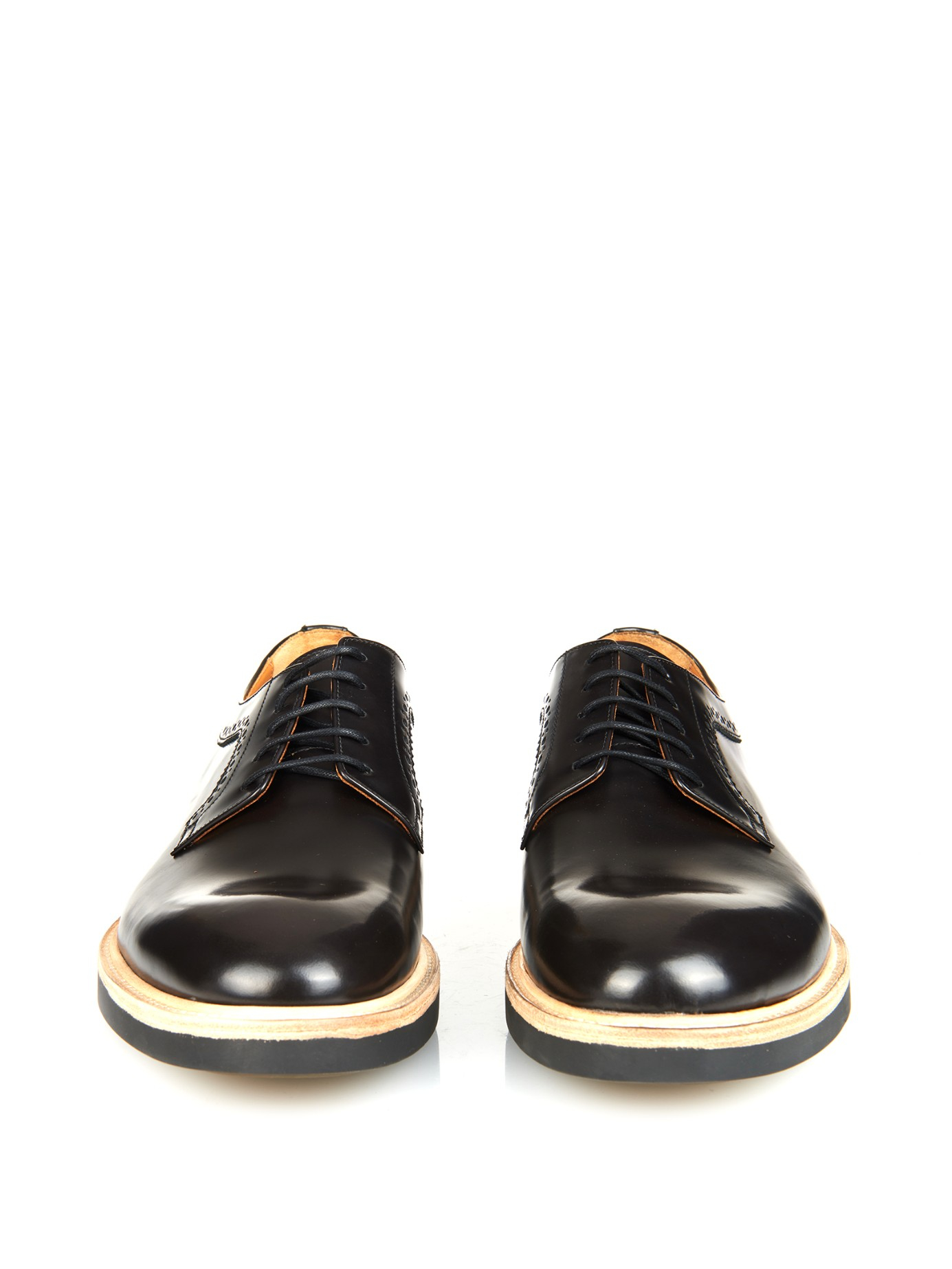 Buffed Smooth Leather Shoes