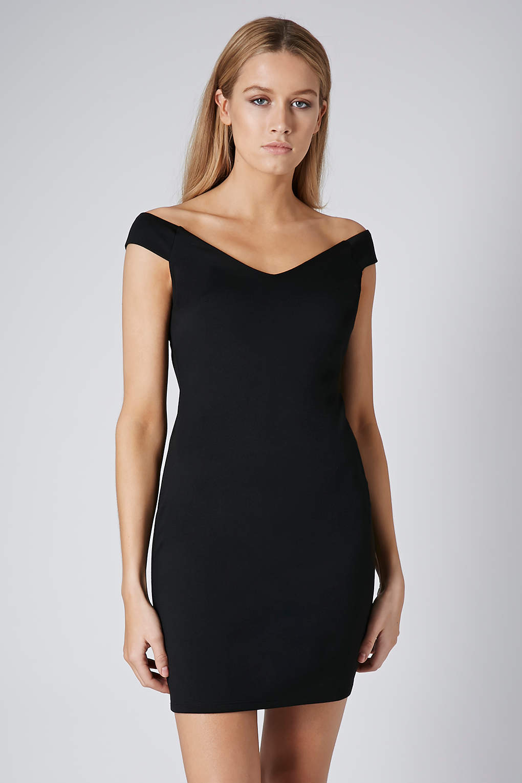 pennyblack_Lyst - Topshop Bardot Bodycon Dress in Black