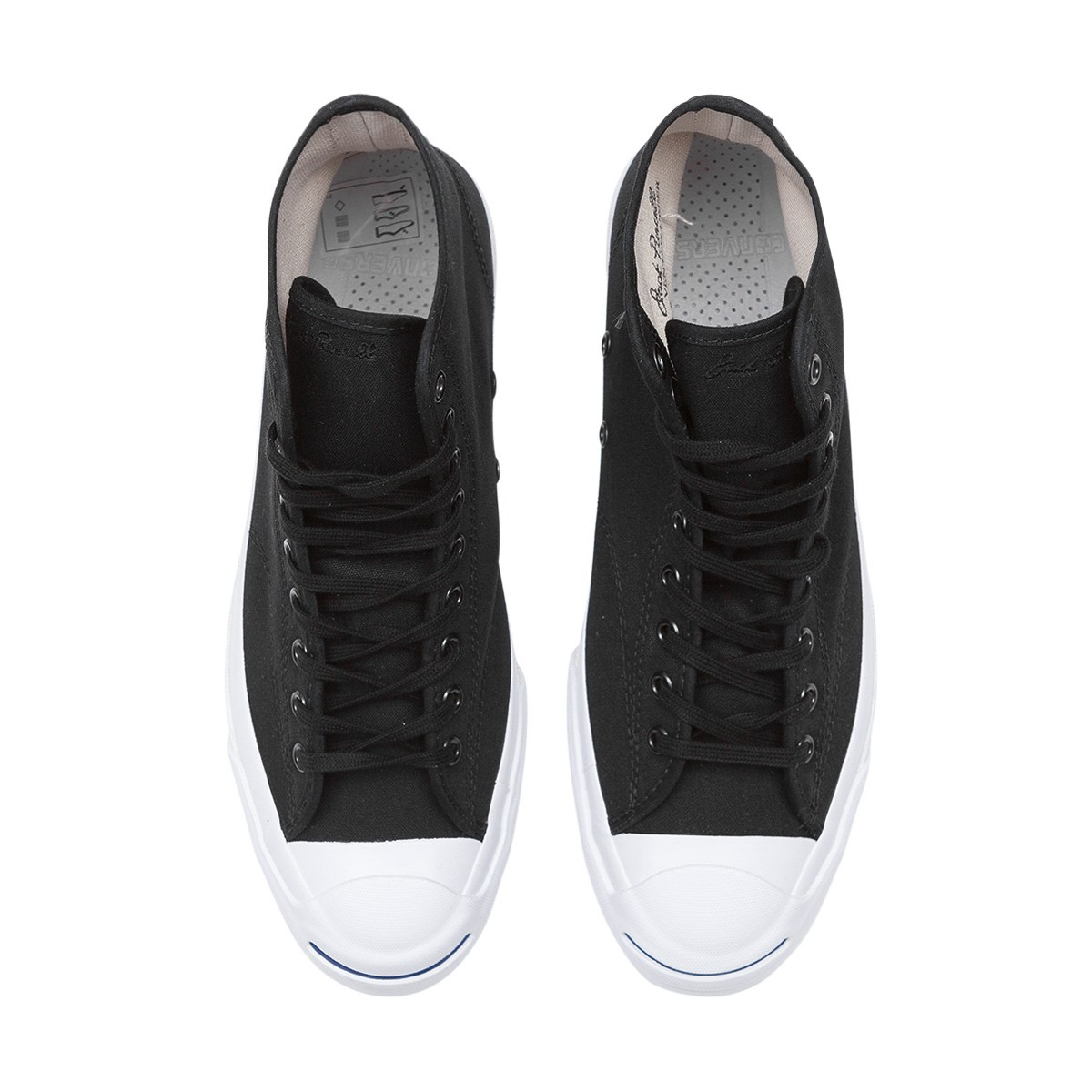 828a22bc666433 Converse Jack Purcell Qs Signature High  duck Canvas Pack  Sneakers ...