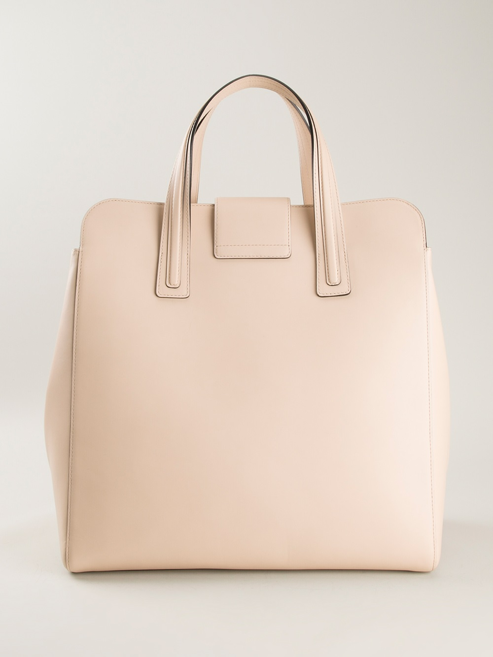 Delvaux Simplissme Ns Tote Cadence in Natural