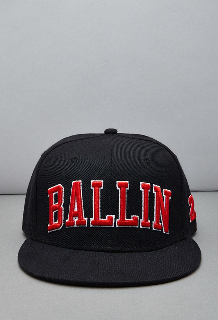 Lyst Forever 21 Reason Ballin Snapback Hat In Black For Men