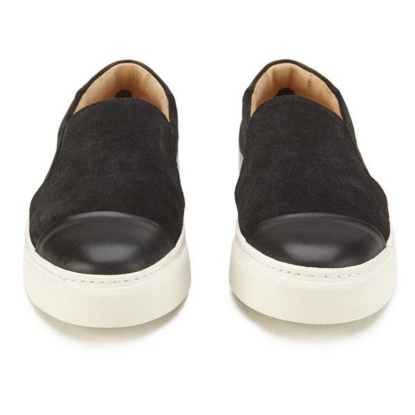 By Malene Birger Women'S Cinca Leather Slip On Trainers in Black