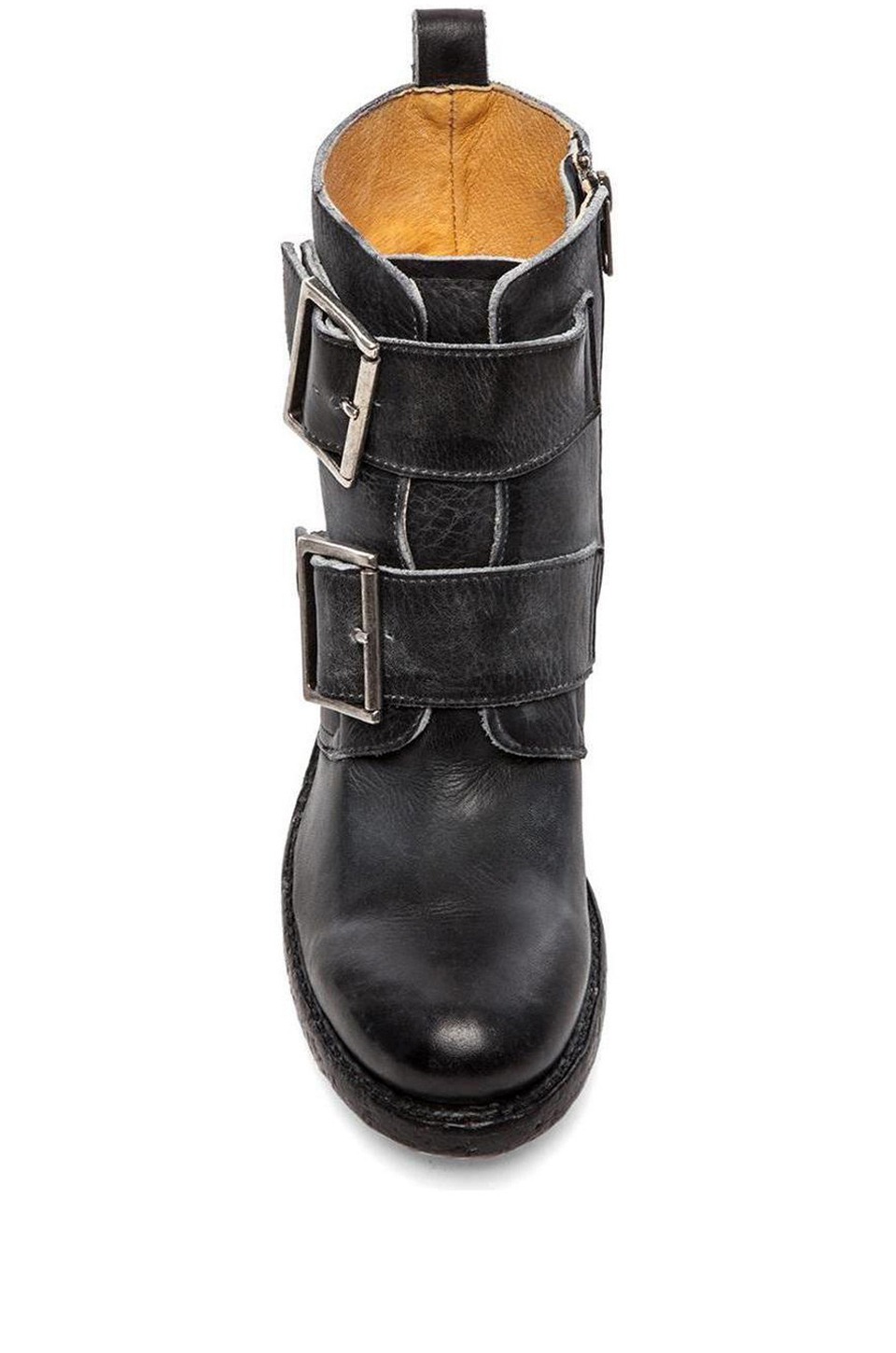 Lyst Frye Sabrina Double Buckle Boot In Black