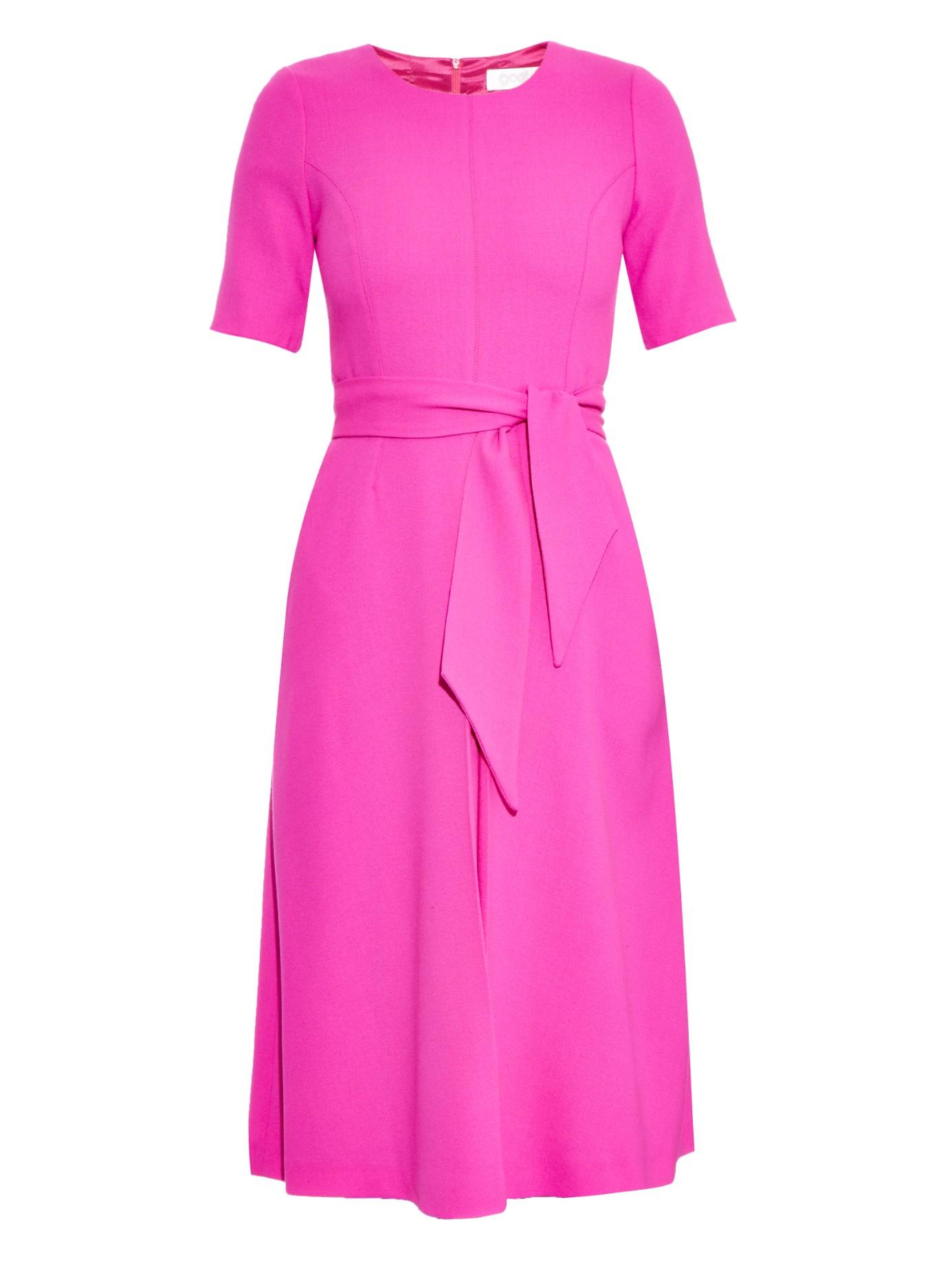 Fox dress - Pink & Purple Goat iwXO8Rulq