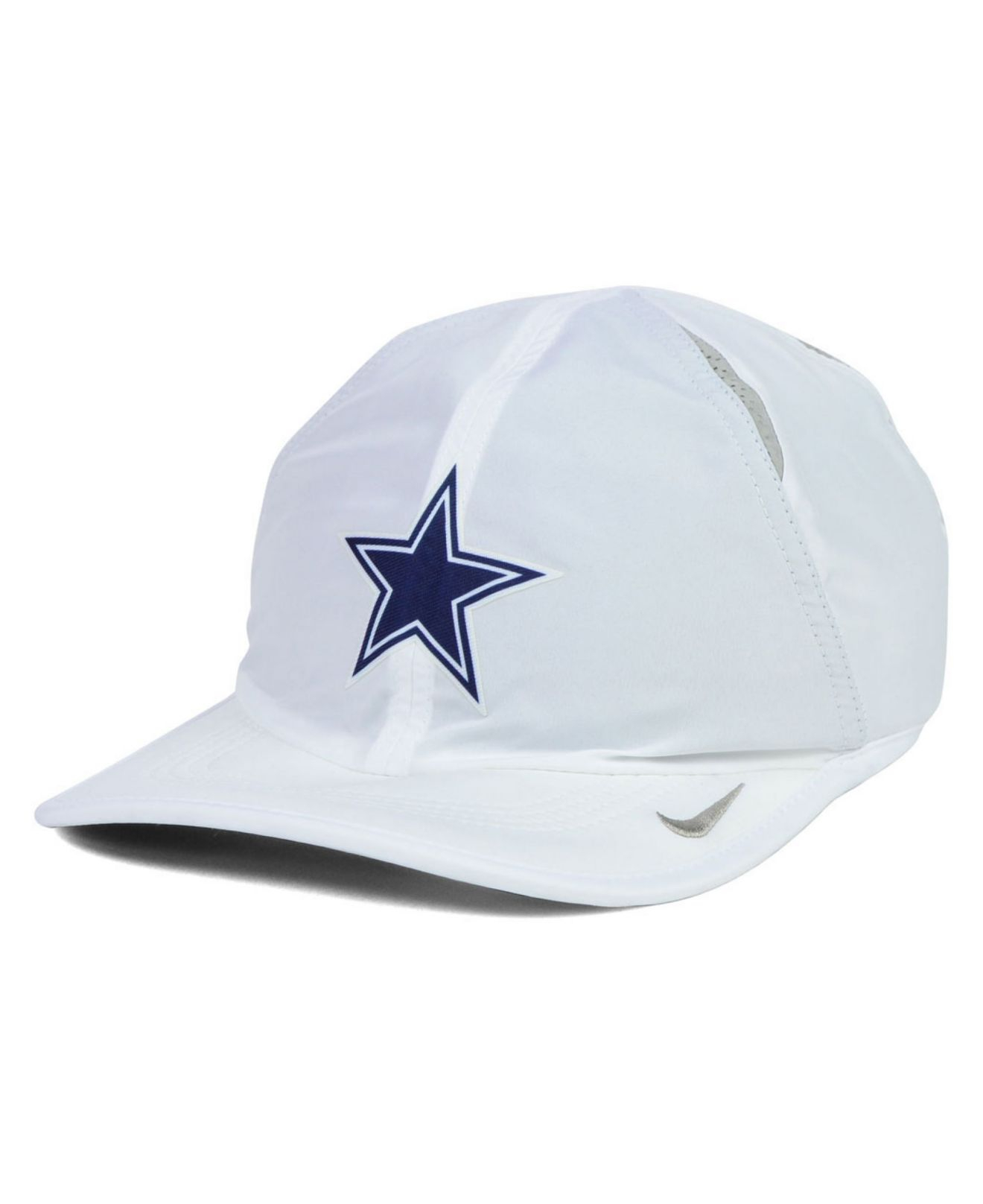 25ab64076c7b69 Lyst - Nike Dallas Cowboys Featherlight Cap in White for Men