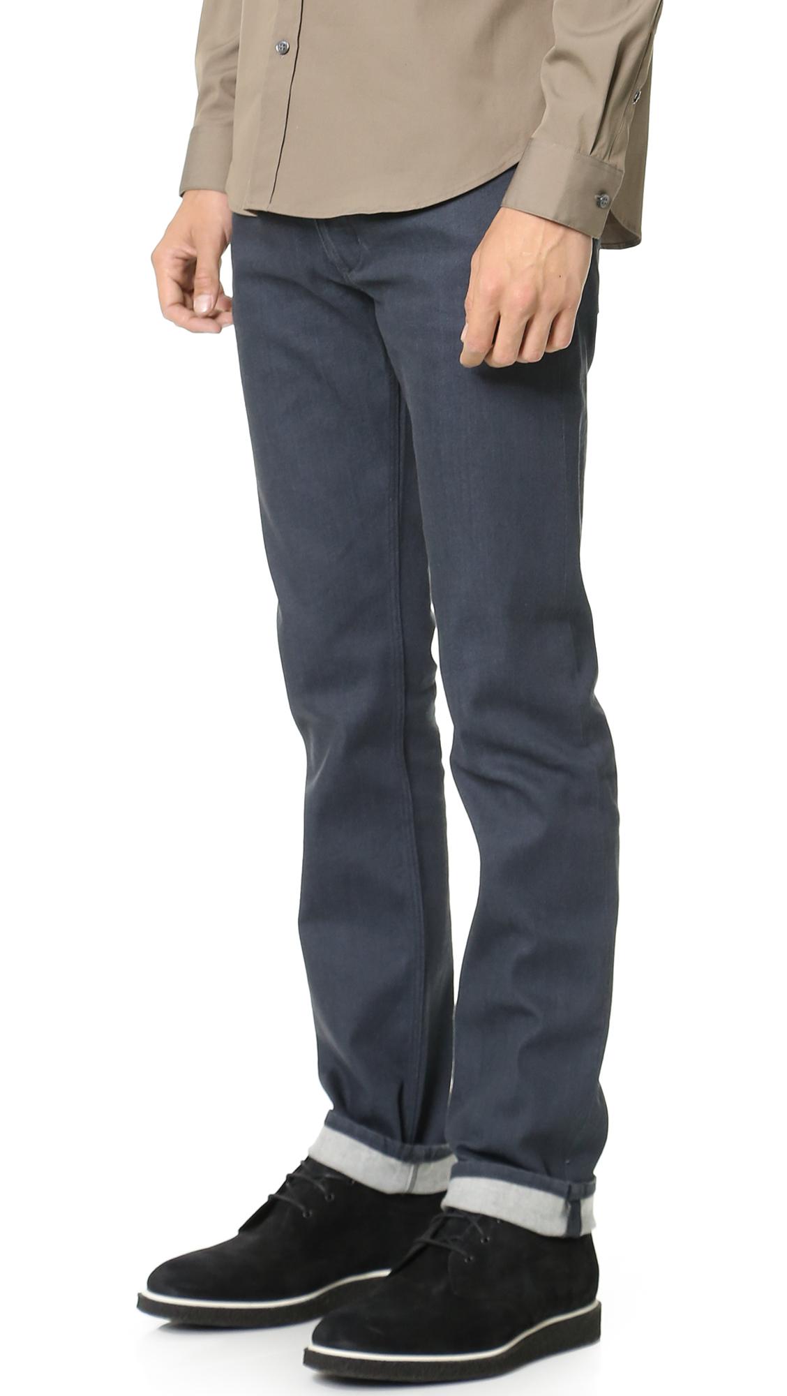 Theory Raffi Stroud Jeans in Grey (Grey) for Men
