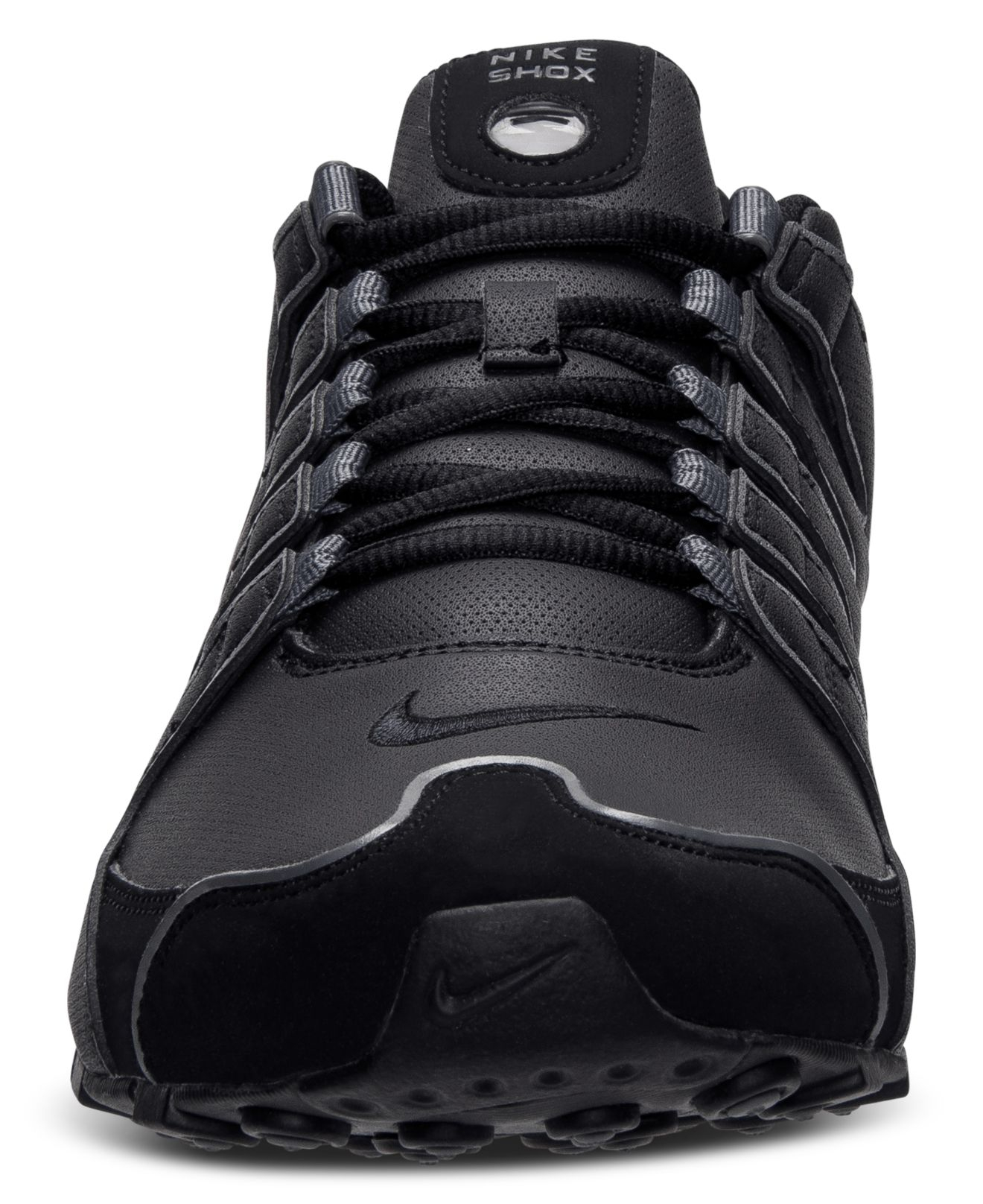 Nike Leather Men's Shox Nz Sl Running Sneakers From Finish