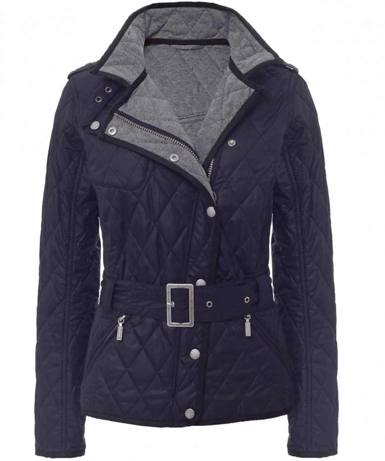 Lyst Barbour Spring Matlock Quilted Jacket In Blue