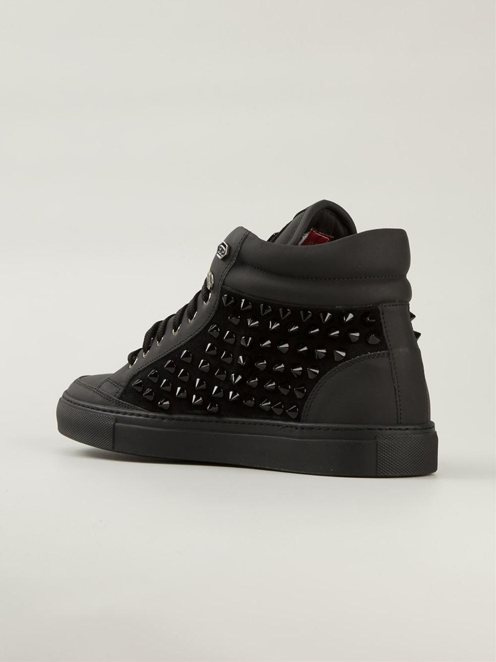 Phil hi-top sneakers - Black Philipp Plein 9ENXS