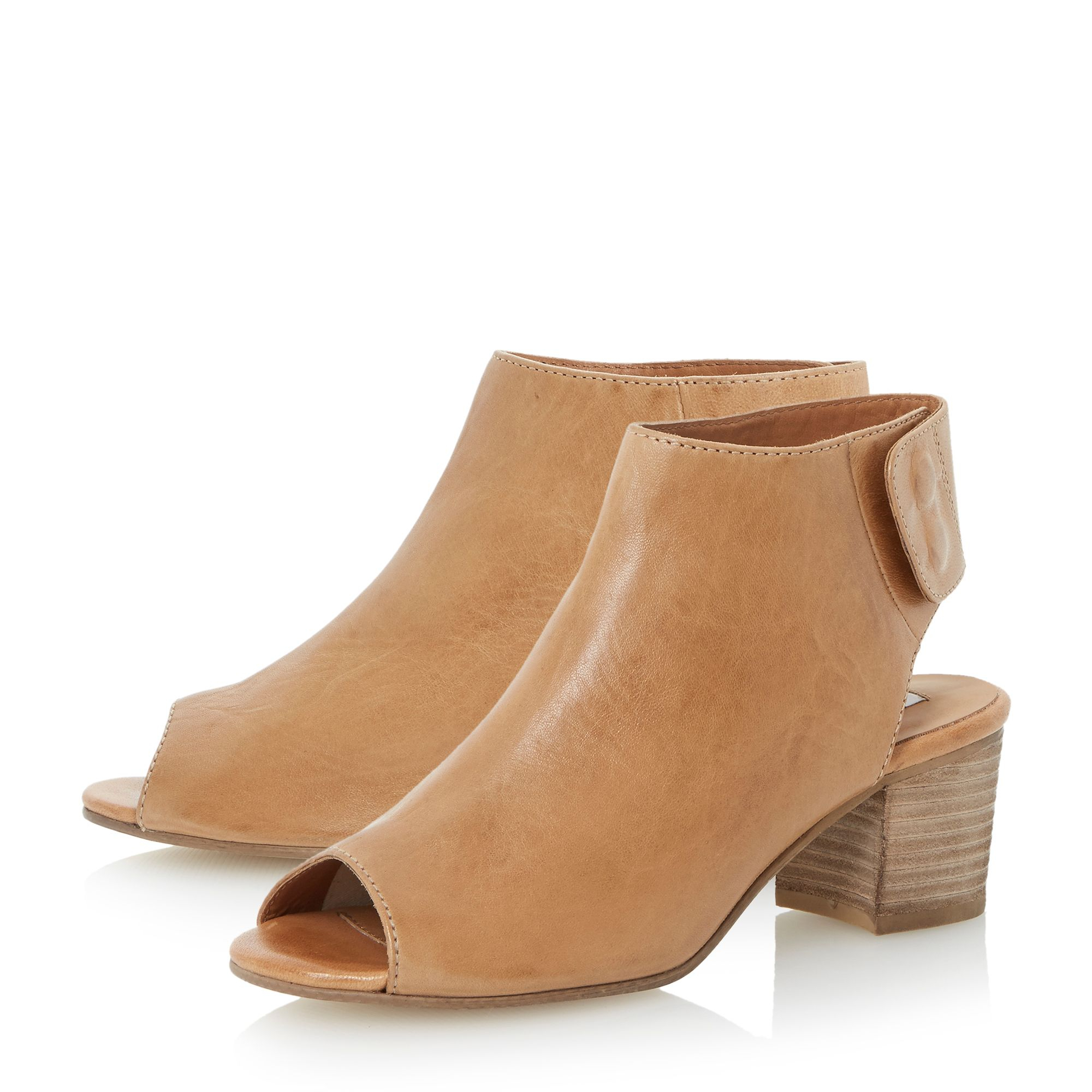 dune joanna softy shoe boot in brown lyst