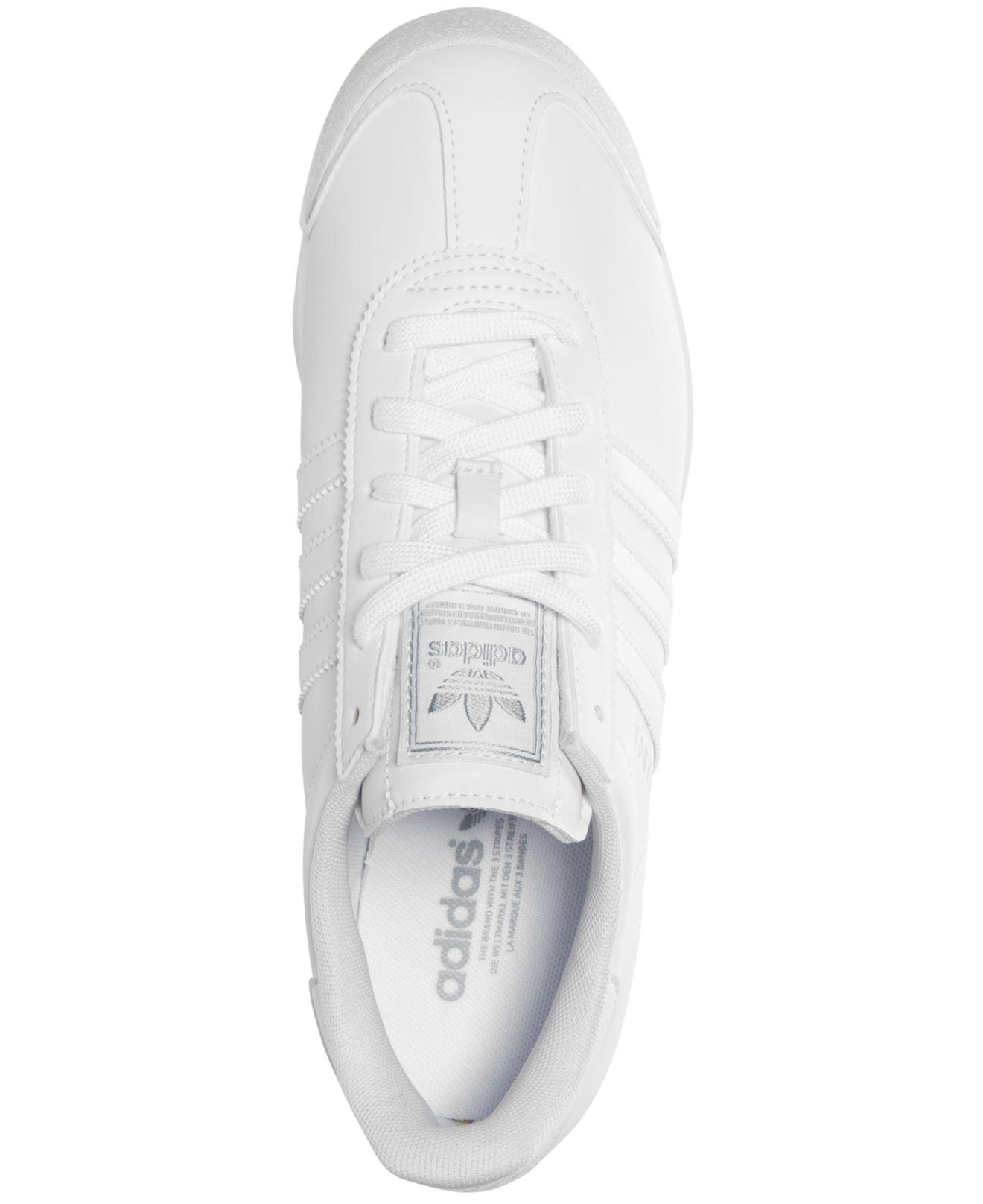 adidas samoa women's white