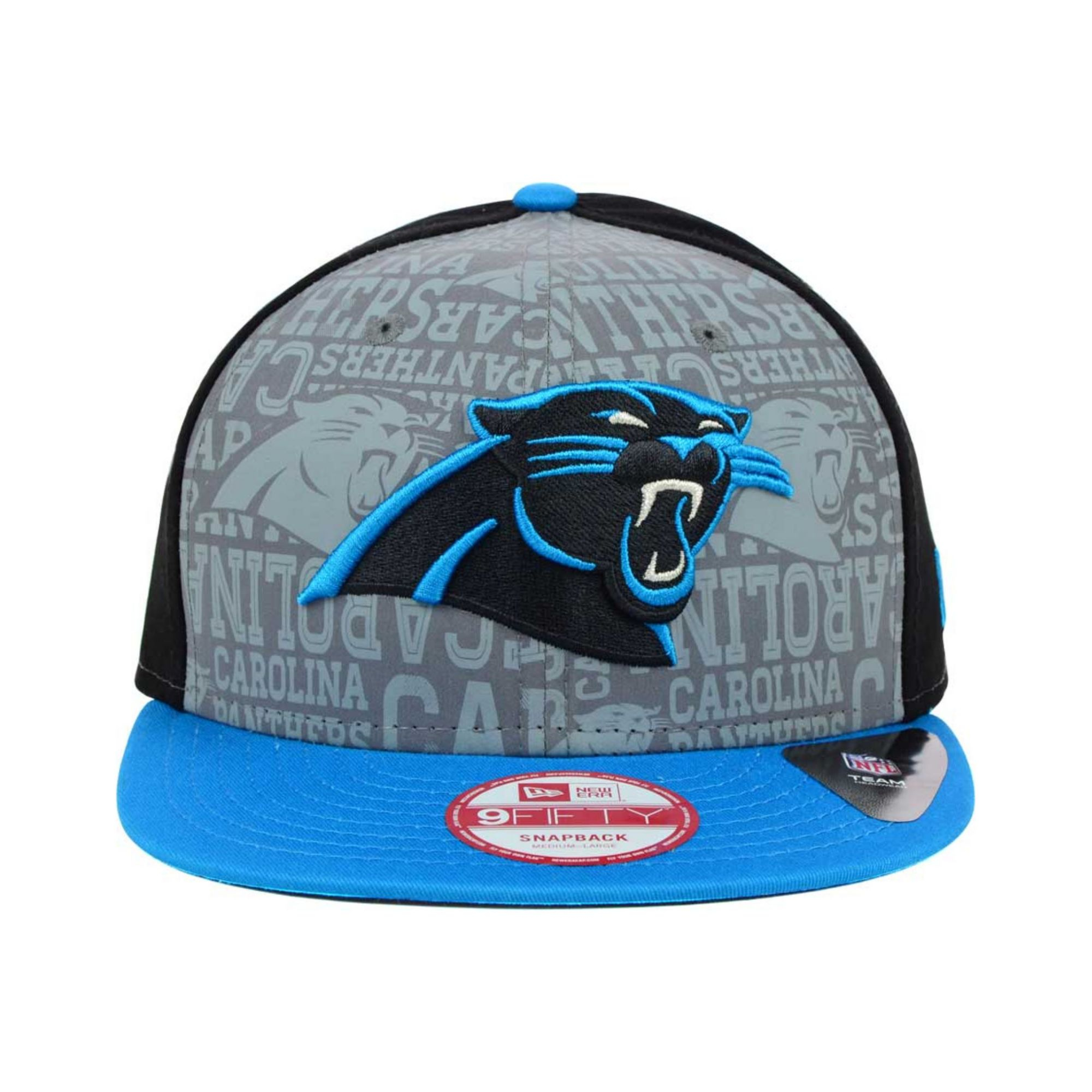 ... greece lyst ktz carolina panthers nfl draft 9fifty snapback cap in blue  for men 96064 f5838 f5554c174