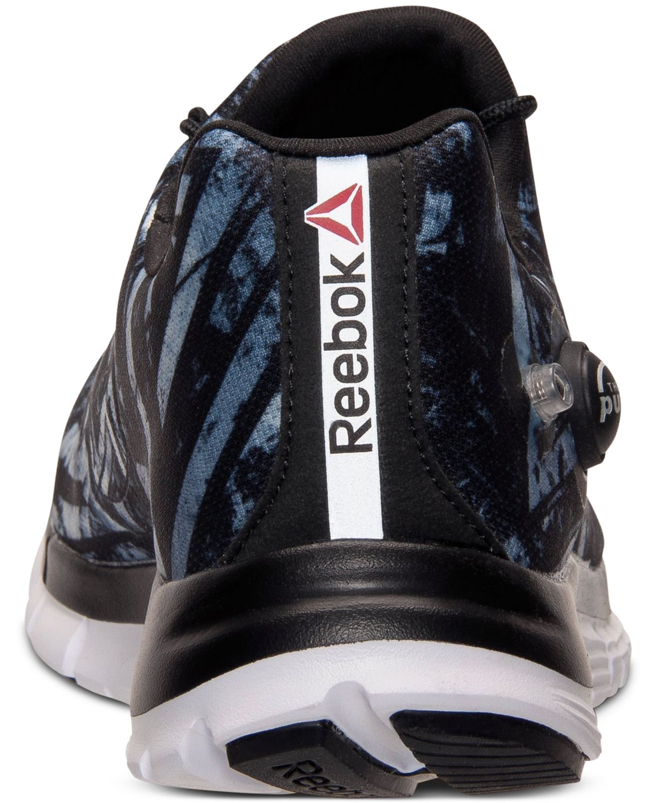 80c29961b7a Lyst - Reebok Men s Zpump Fusion Geo Running Sneakers From Finish ...