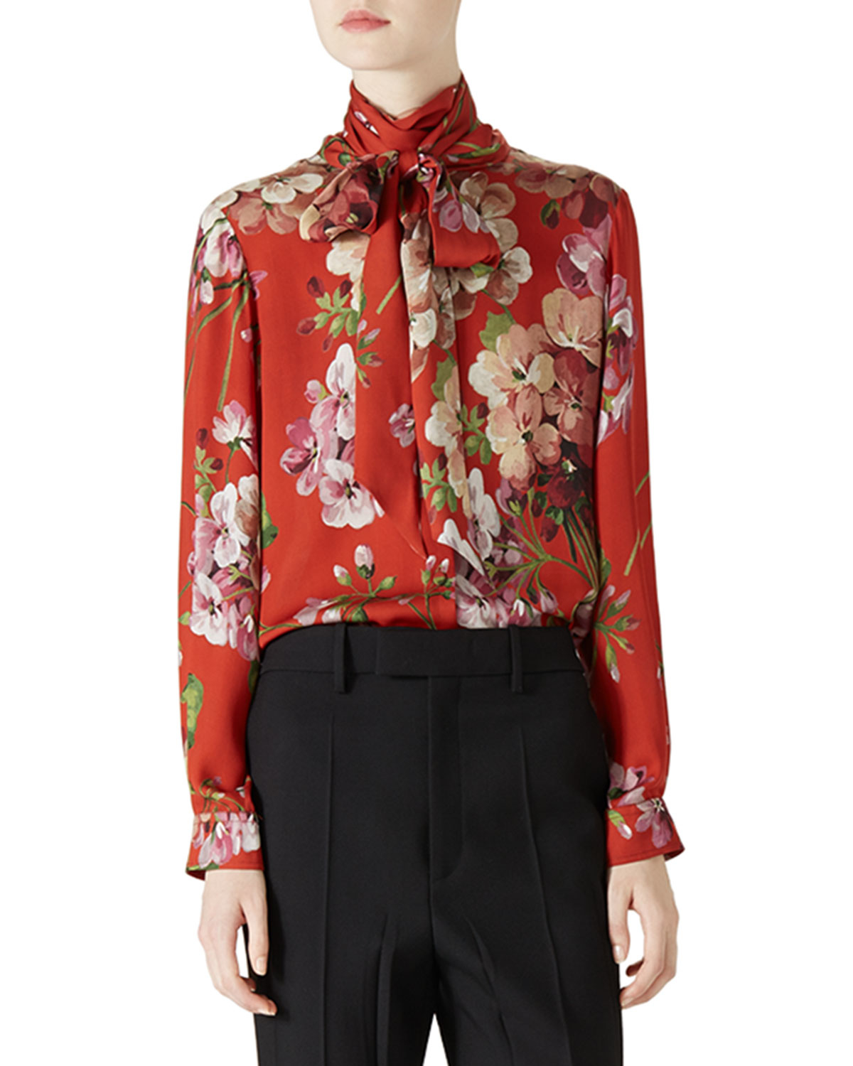 Gucci Blouses Long Blouse With Pants