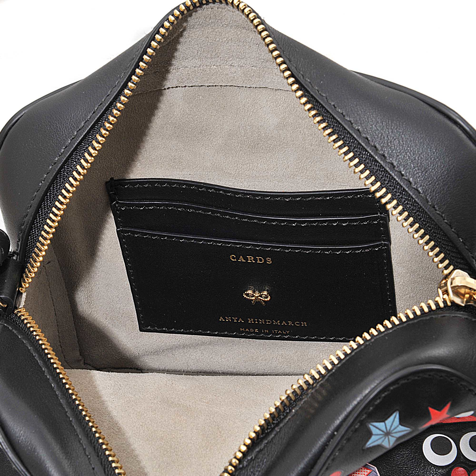 Anya Hindmarch Crossbody All Over Wink Stickers Bag