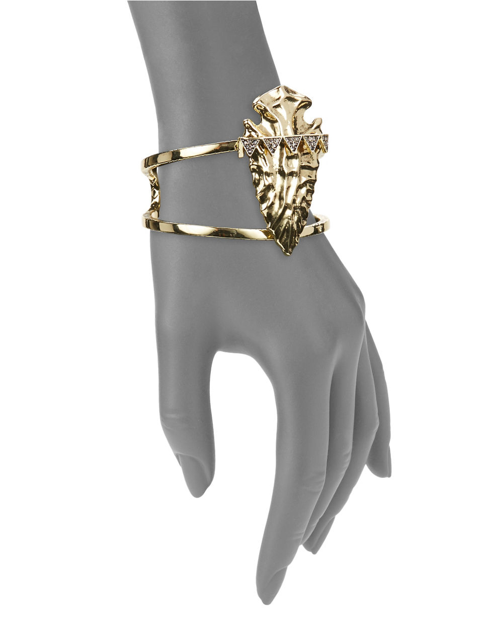 House Of Harlow House of Harlow Mojave Cuff in Metallic Gold LlwyM