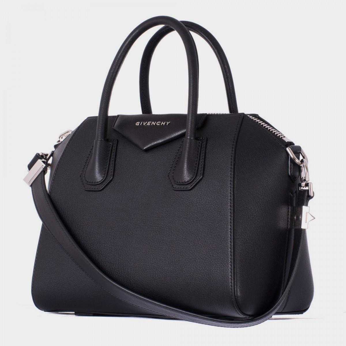 a1cc36d7b974 Givenchy Antigona Small Tote in Black