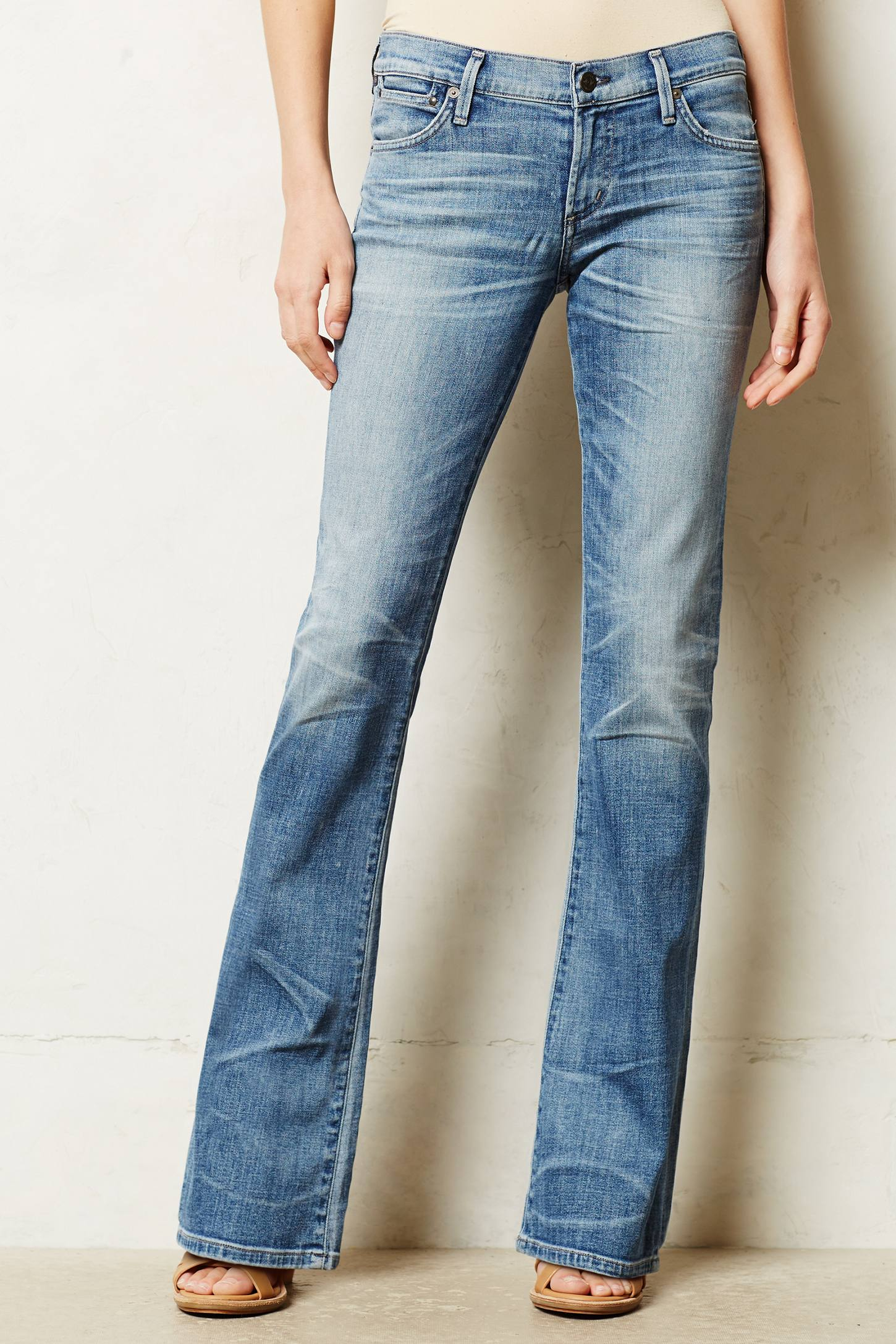 Citizens Of Humanity Petite Emmanuelle Slim Boot Jeans in Blue (Belize) | Lyst