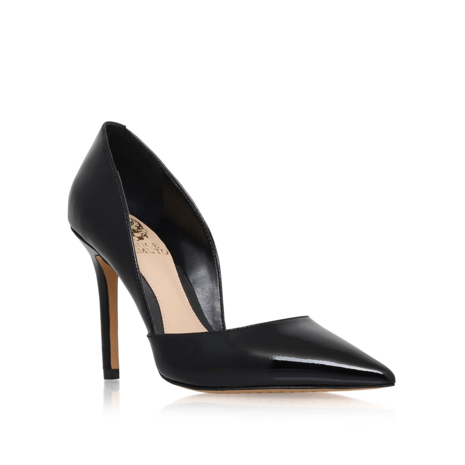 Vince Camuto Rowin High Heel Court Shoes In Black Lyst