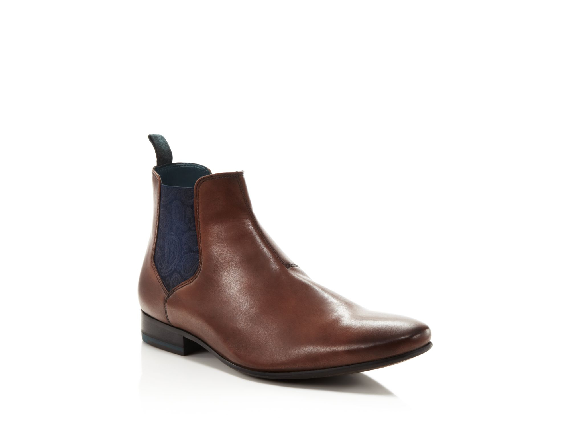 Ted Baker Hourb Chelsea Boots In Brown For Men Lyst