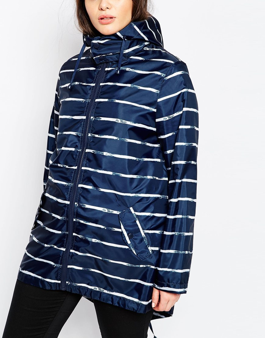 Asos Pac A Mac In Stripe Print In White Lyst
