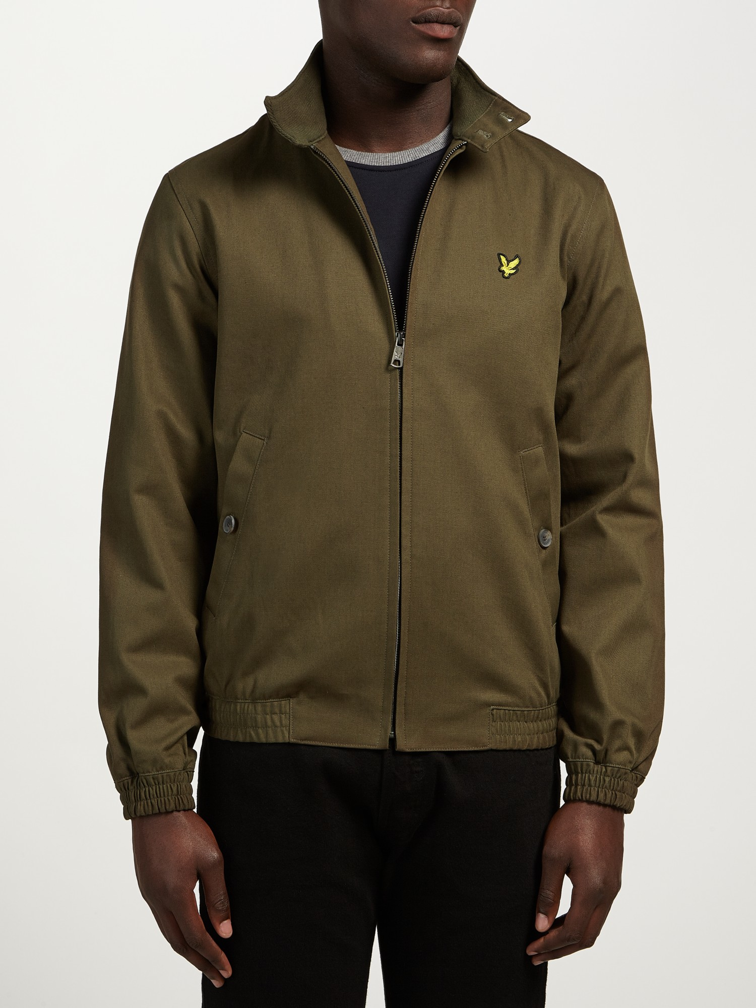 lyst lyle scott harrington jacket in green for men. Black Bedroom Furniture Sets. Home Design Ideas