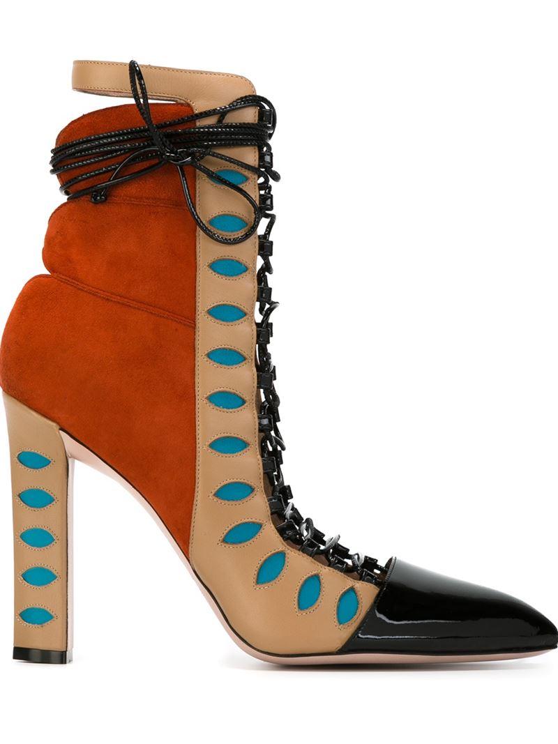 c3a3abf13d5 Paula Cademartori Natural 'warrior' Boots