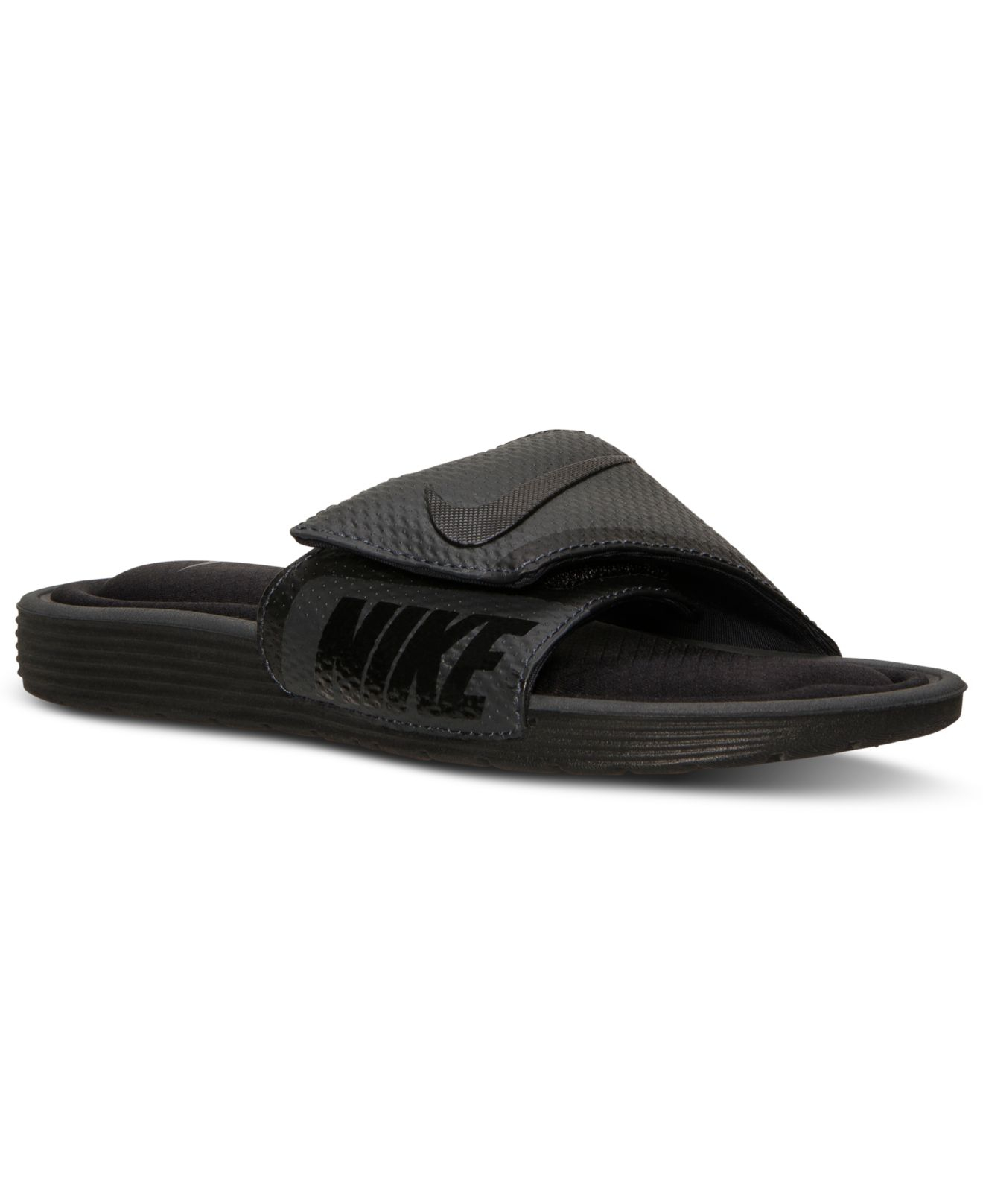 Nike Men's Solarsoft Comfort Slide Sandals From Finish ...
