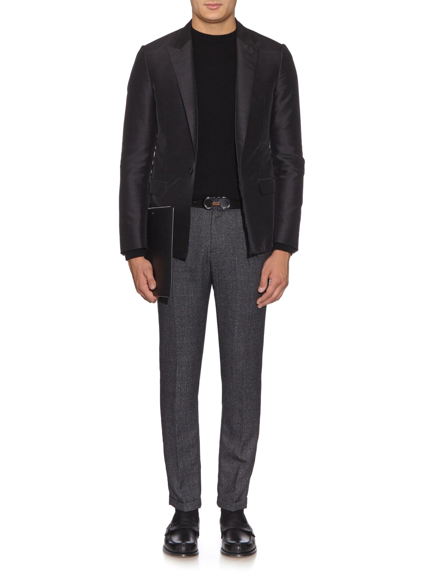 39411d30f7 Lyst - Ferragamo Reversible Leather Belt in Black for Men