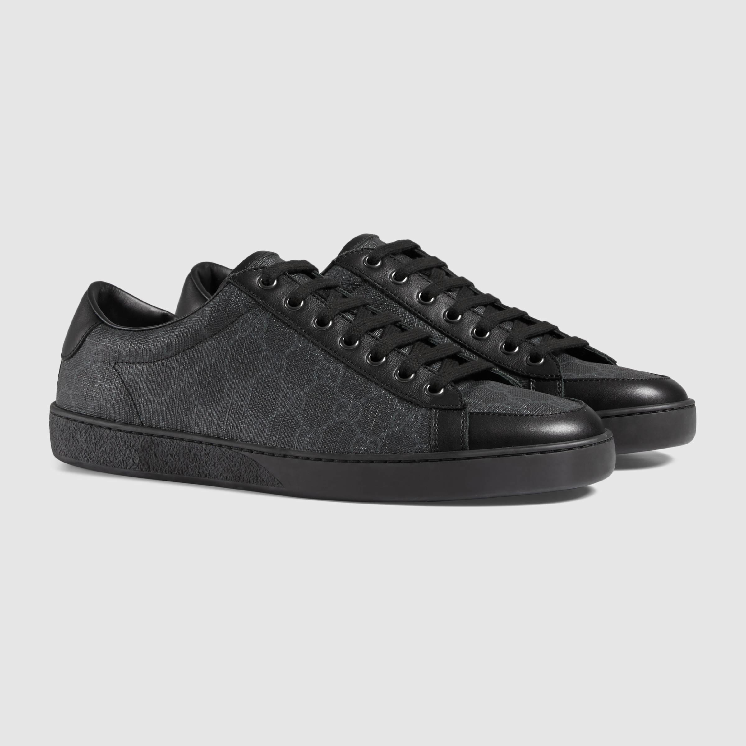 Gucci Canvas Gg Supreme Sneaker in