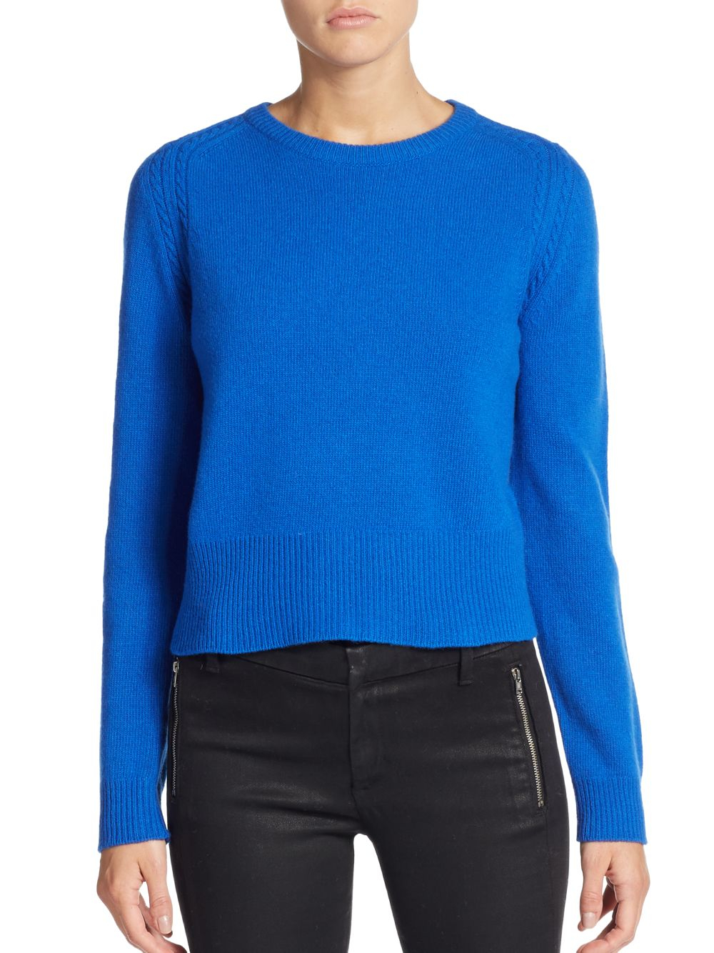 marc by marc jacobs wool sweater in blue lyst. Black Bedroom Furniture Sets. Home Design Ideas