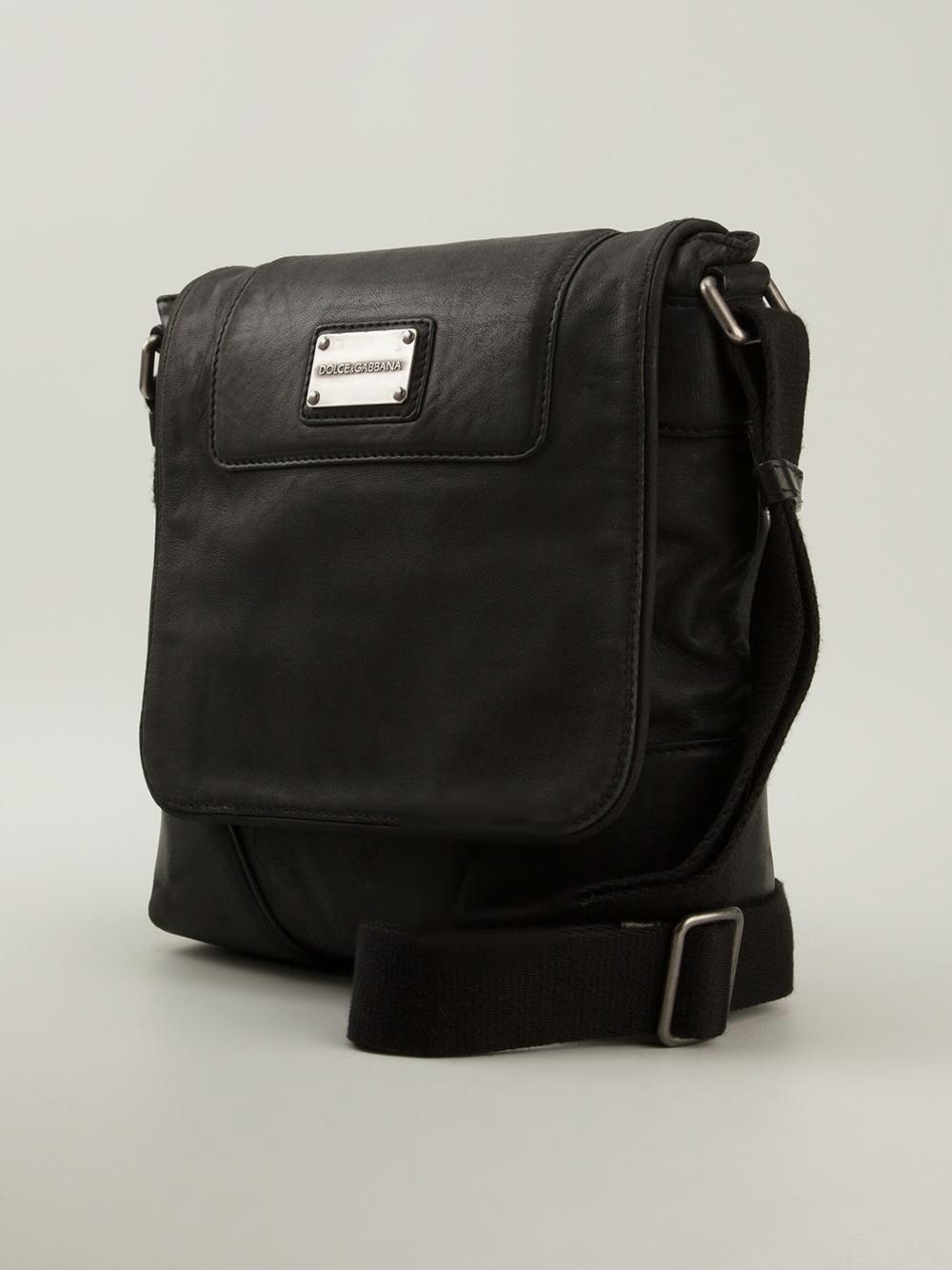 5f7f977b683 Dolce & Gabbana Classic Messenger Bag in Black for Men - Lyst