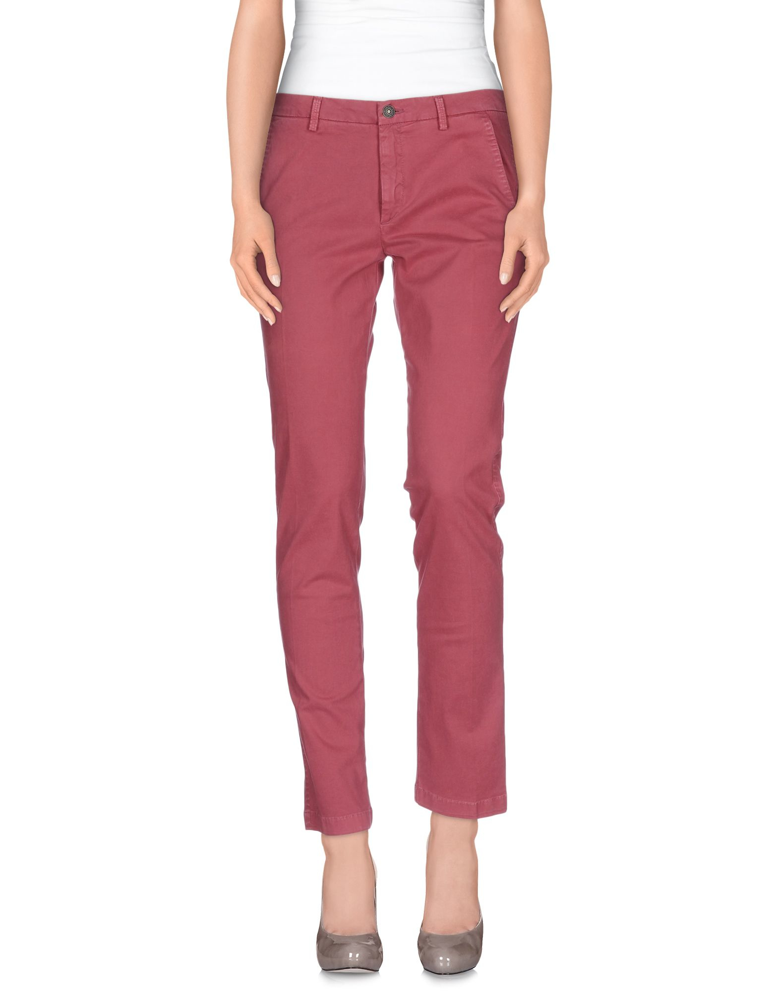 7 for all mankind casual pants in pink lyst. Black Bedroom Furniture Sets. Home Design Ideas
