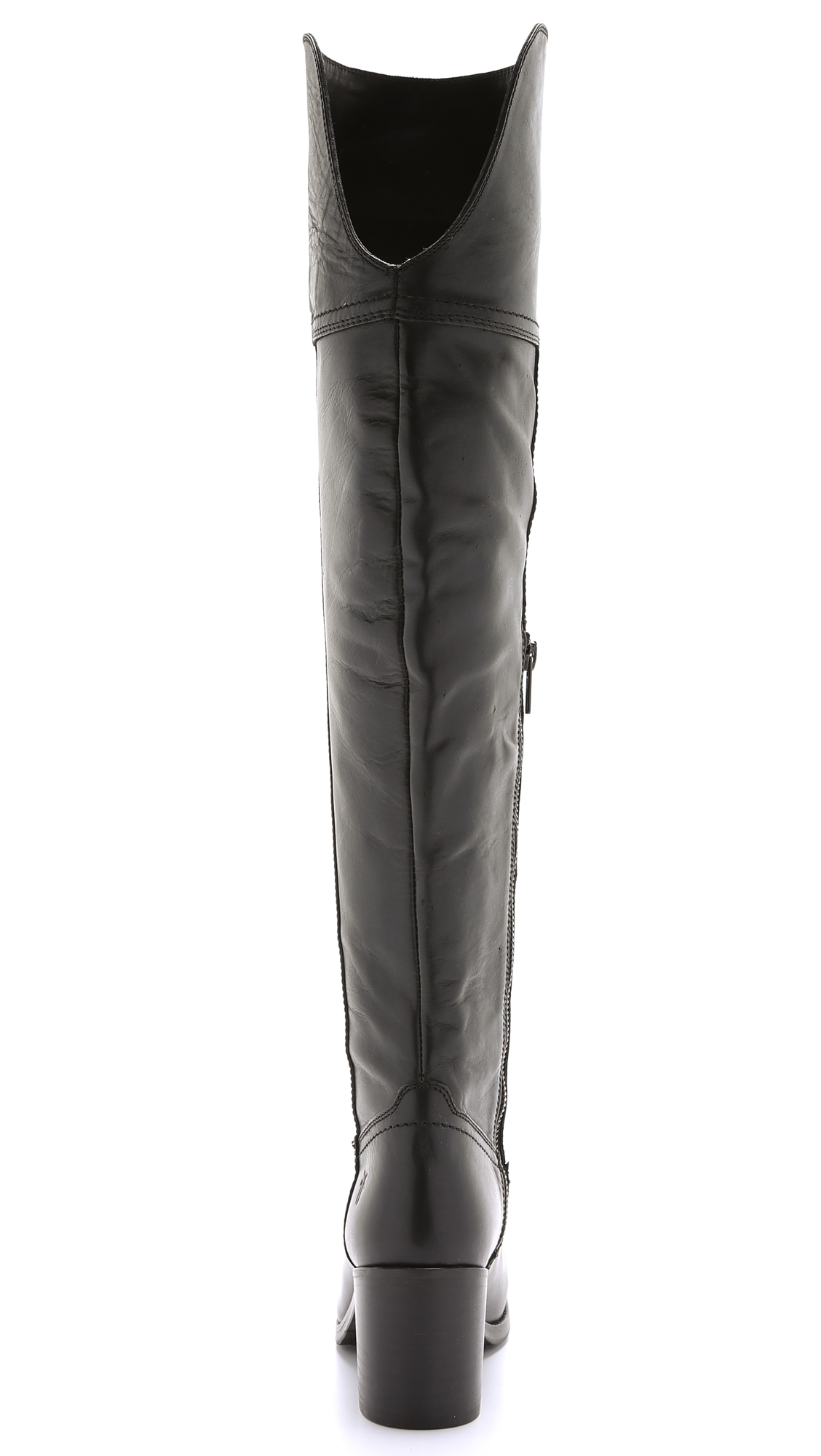 Frye Kendall Over The Knee Boots - Black