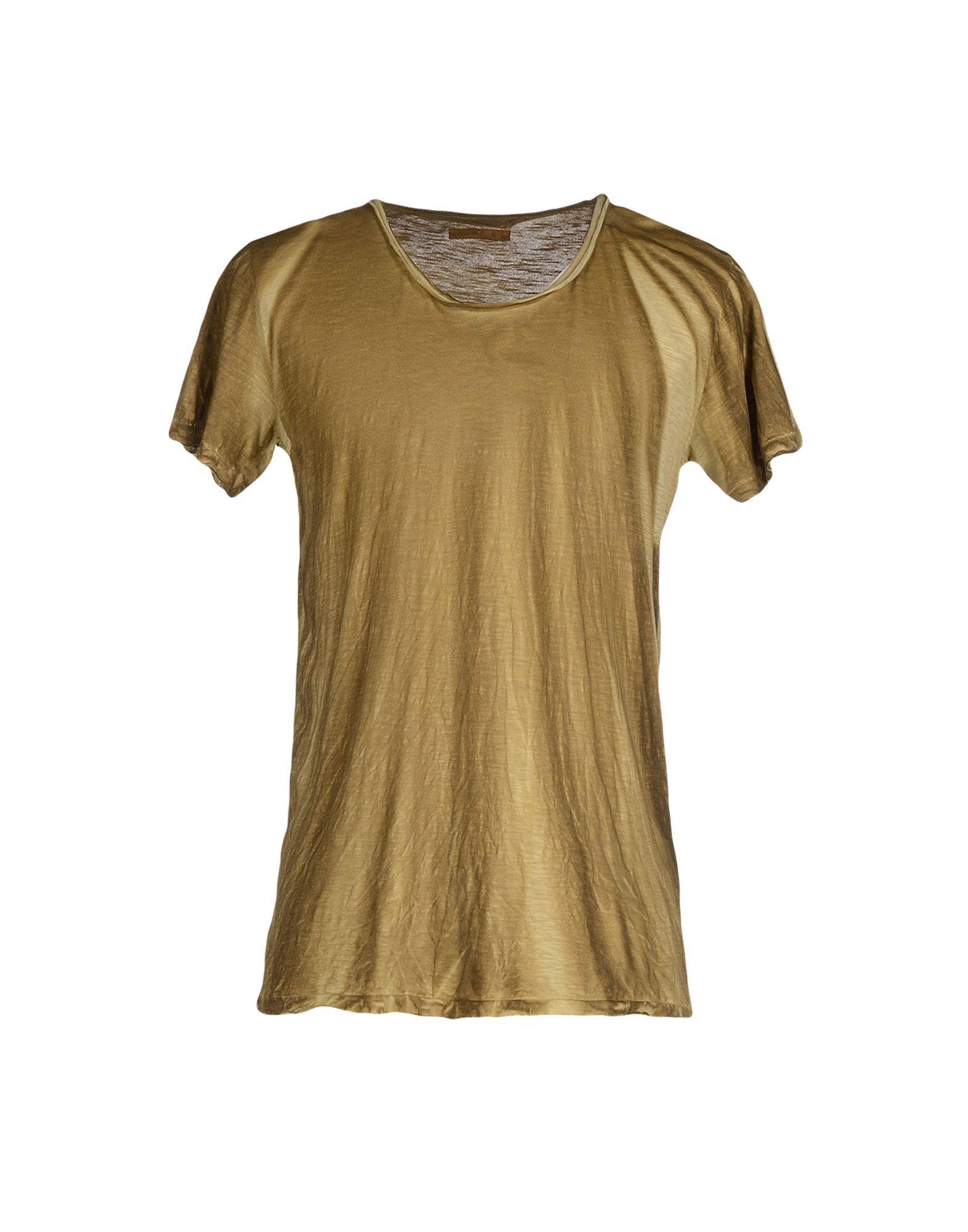 alternative apparel t shirt in gold for khaki lyst