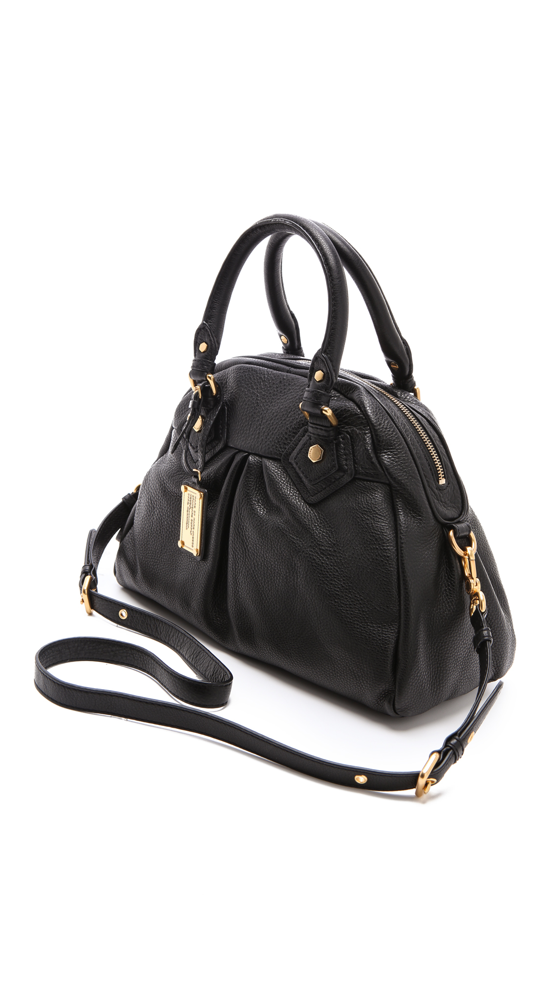 Marc By Marc Jacobs Classic Q Baby Aidan Bag Black In