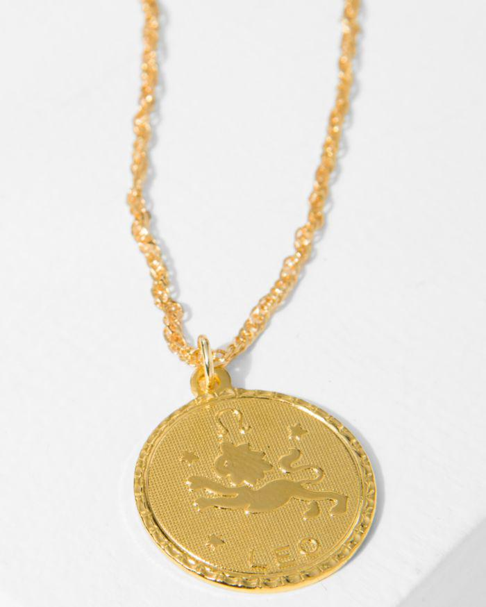 7 For All Mankind Cam Sagittarius Necklace In Gold pgTFrD8v