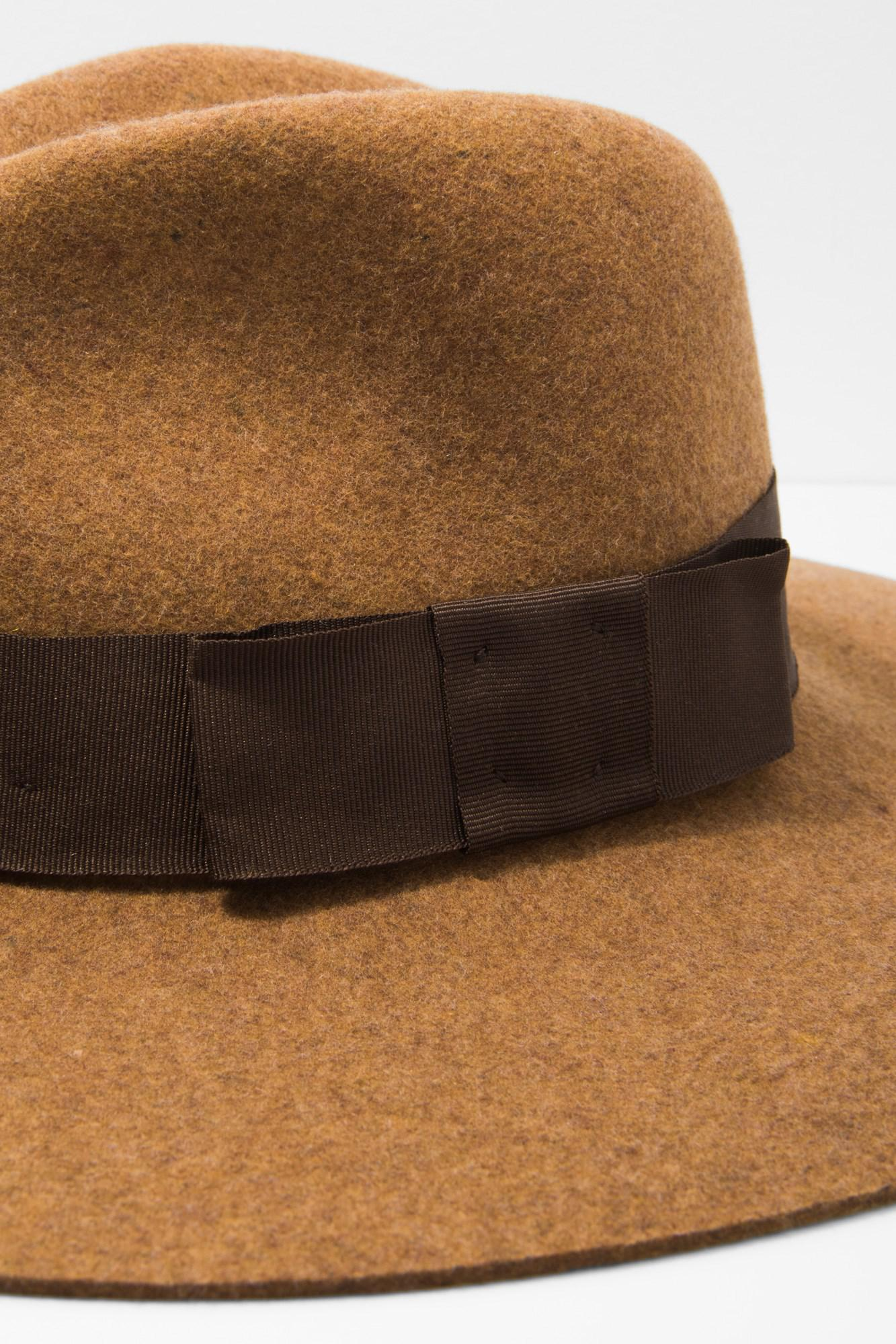 ad150df9e34f 7 For All Mankind - Brown Brixton Piper Hat In Heather Coffee for Men - Lyst