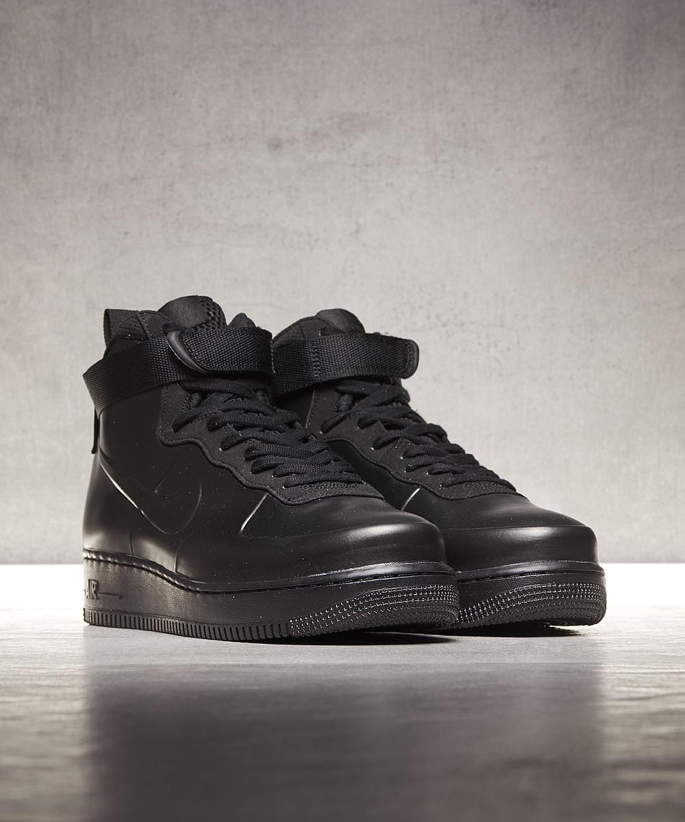 25dc6d62359be ... italy lyst nike air force 1 foamposite cupsole trainer in black for men  62007 ebd3f