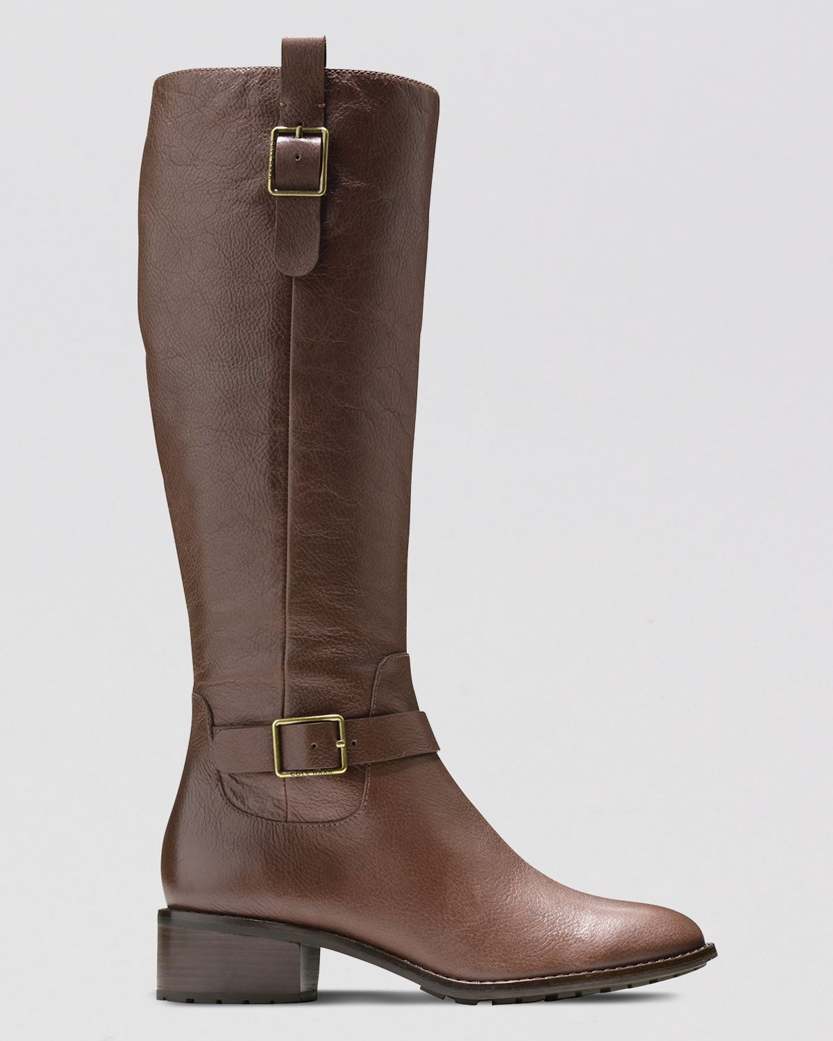 cole haan boots kenmare in brown lyst