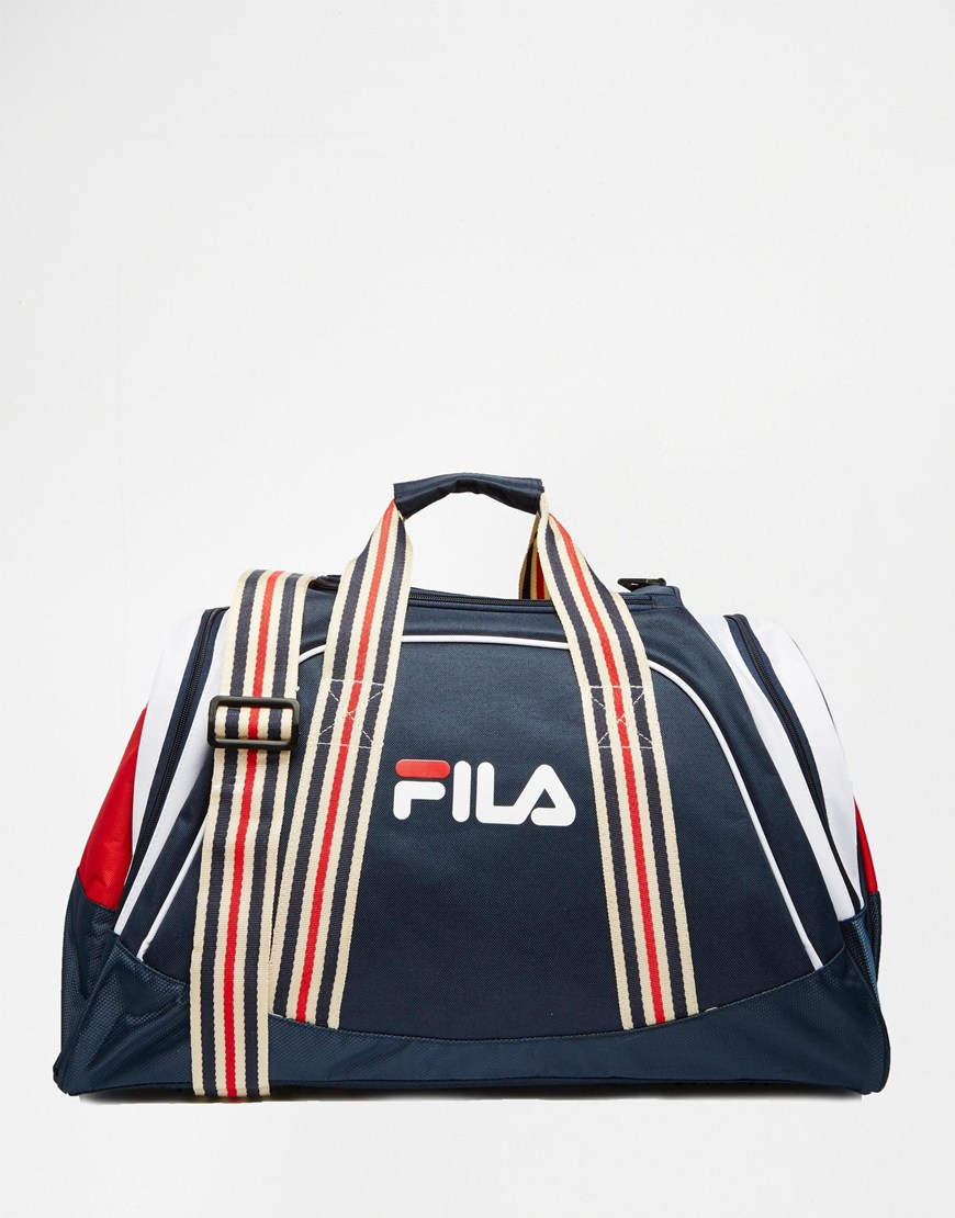 6a2d26fa7d Fila Vintage Small Holdall in Blue