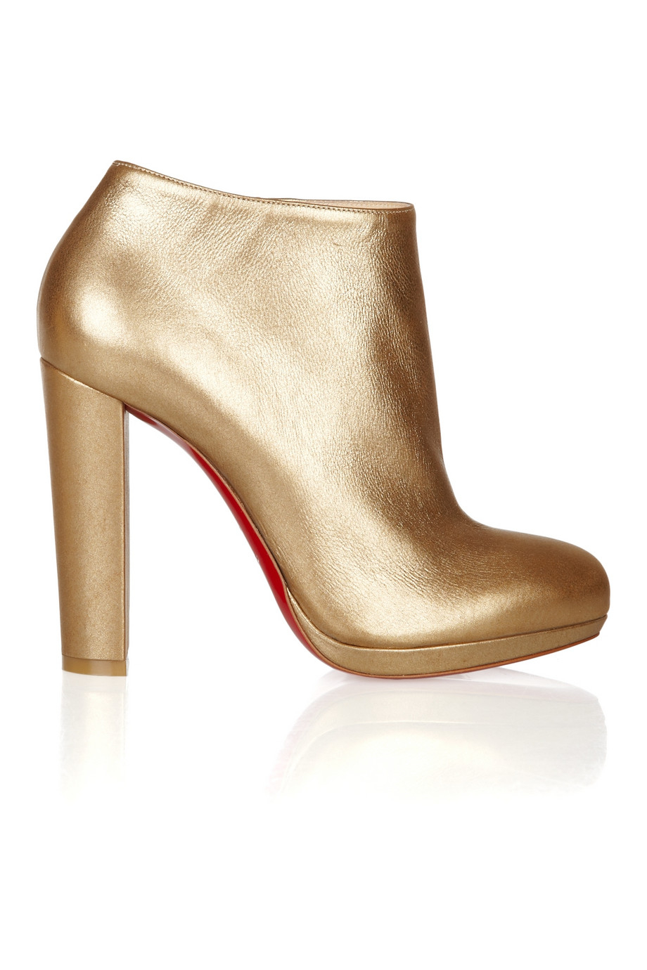 save off ce055 f600a Women's Rock & Gold 120 Metallic Leather Ankle Boots